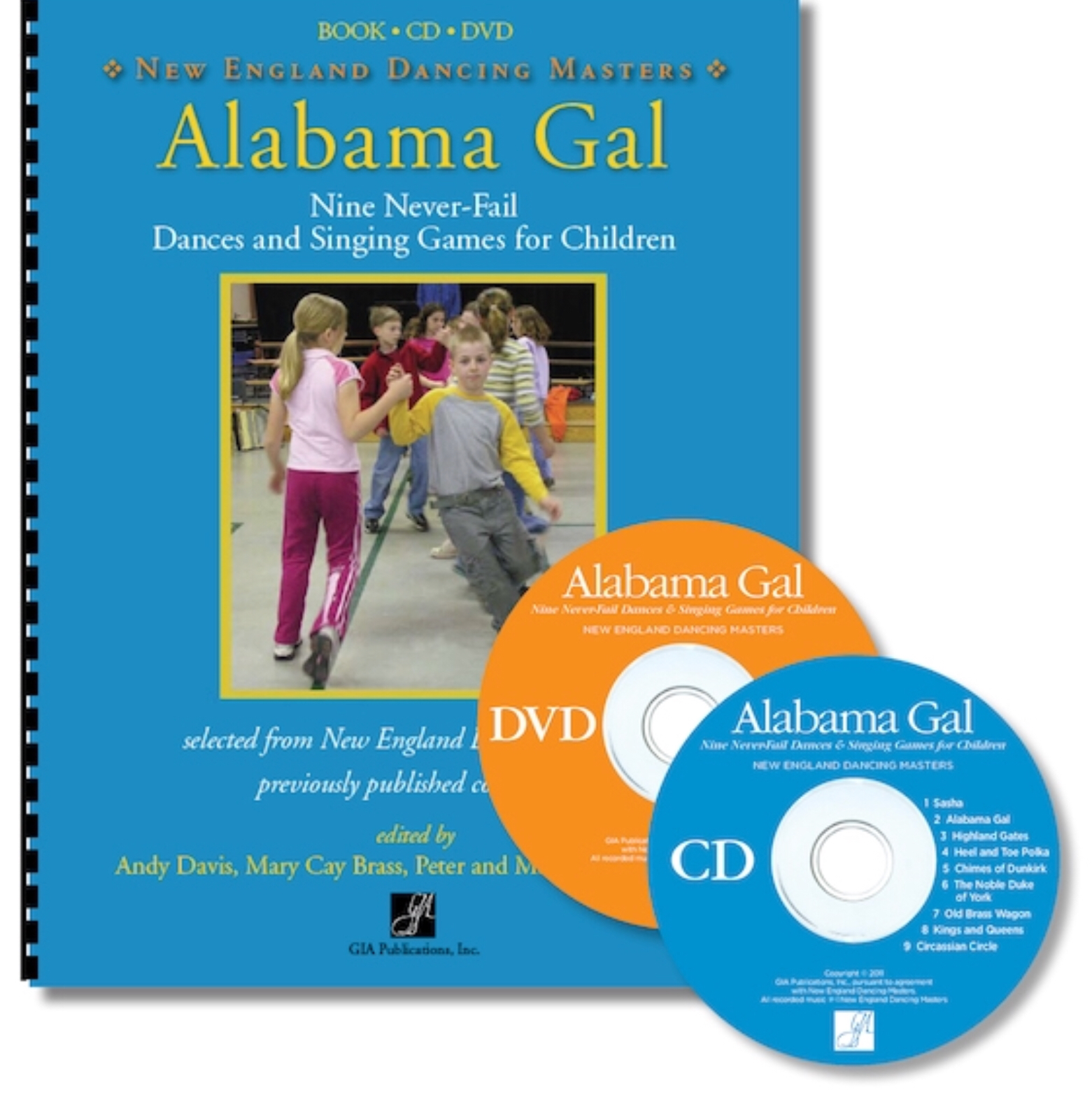 Alabama Gal(book And Cd) by New England Dancing Masters