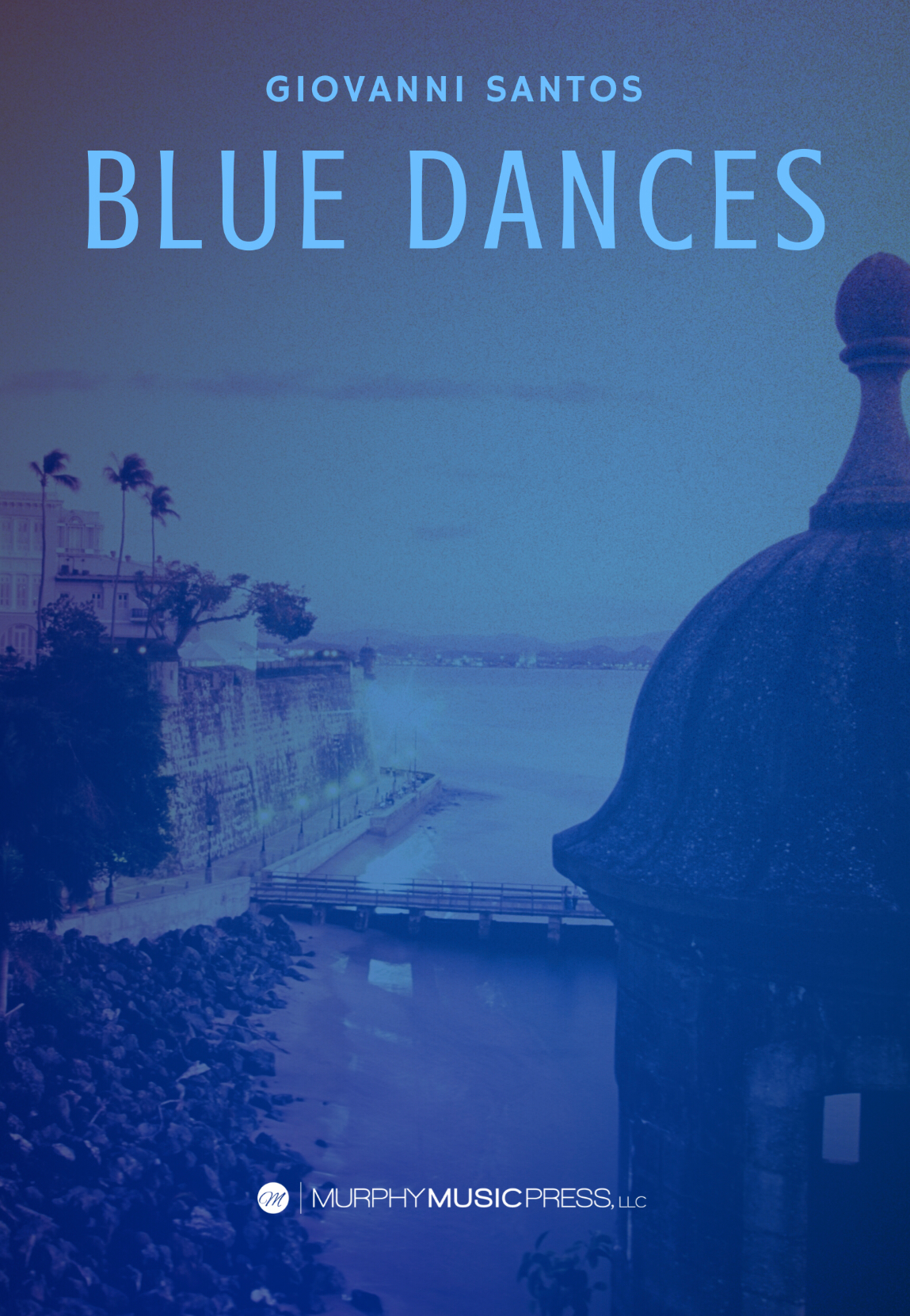 Blue Dances by Giovanni Santos