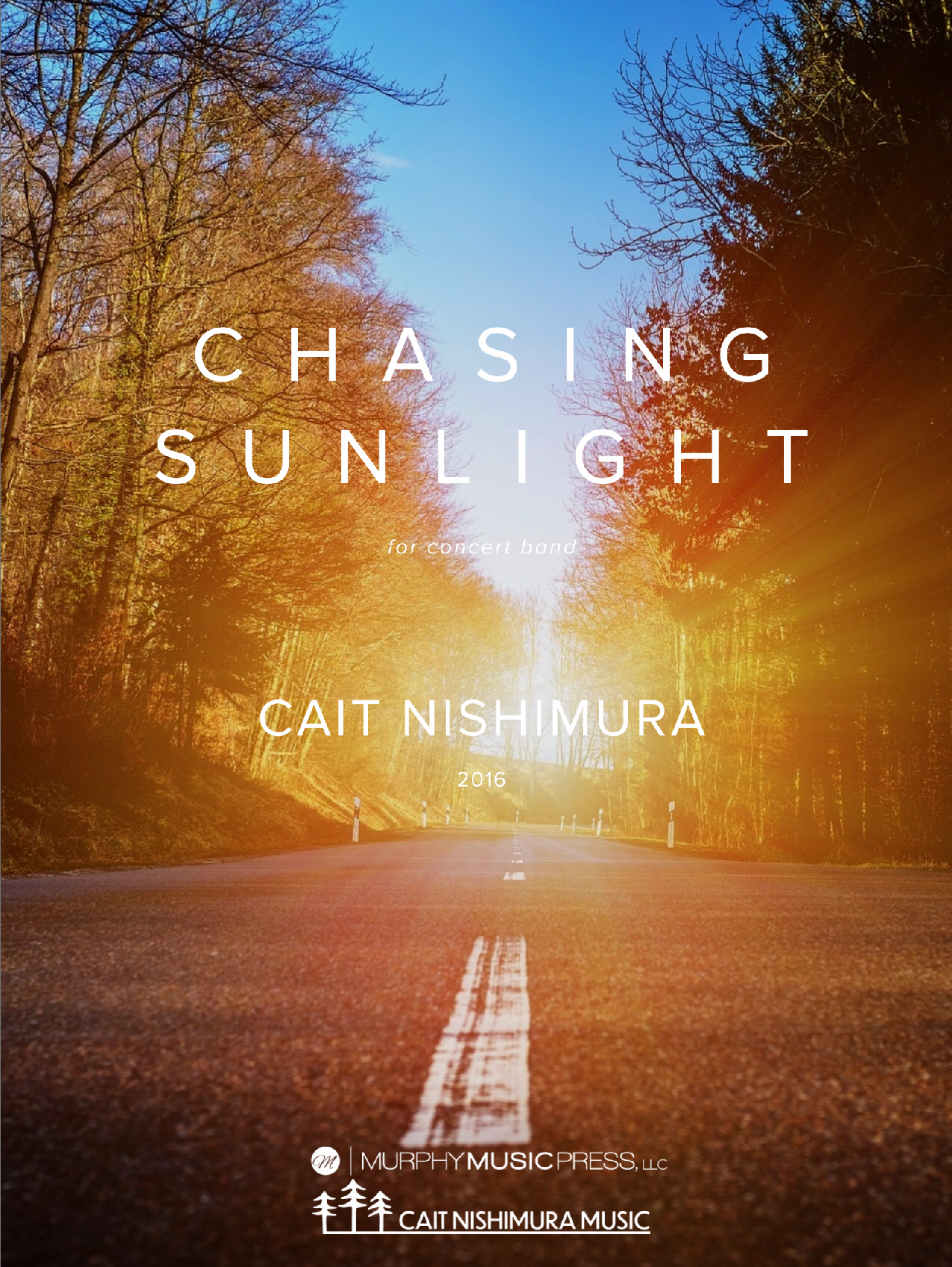Chasing Sunlight (Score Only) by Cait Nishimura