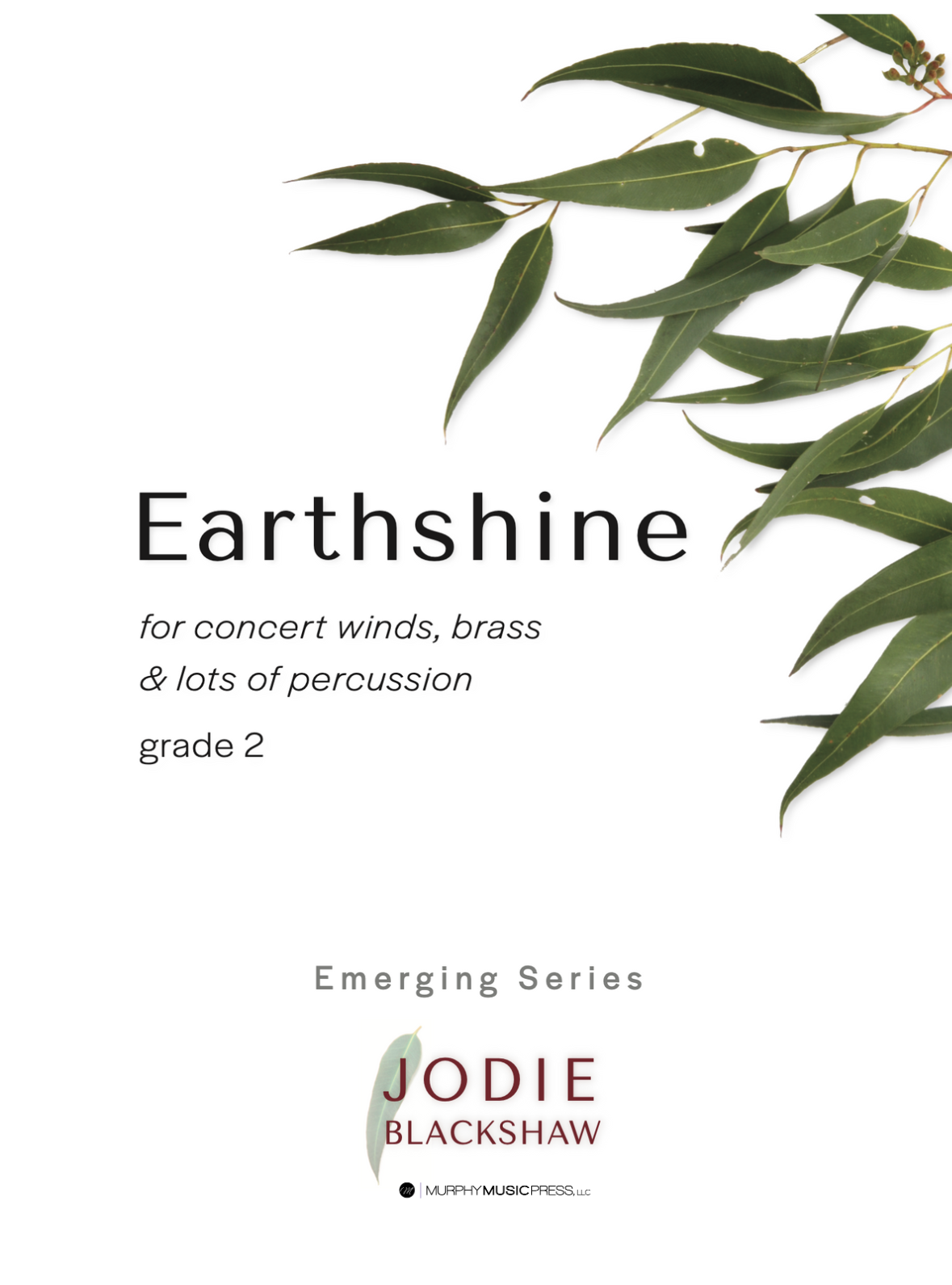 Earthshine (Score Only) by Jodie Blackshaw