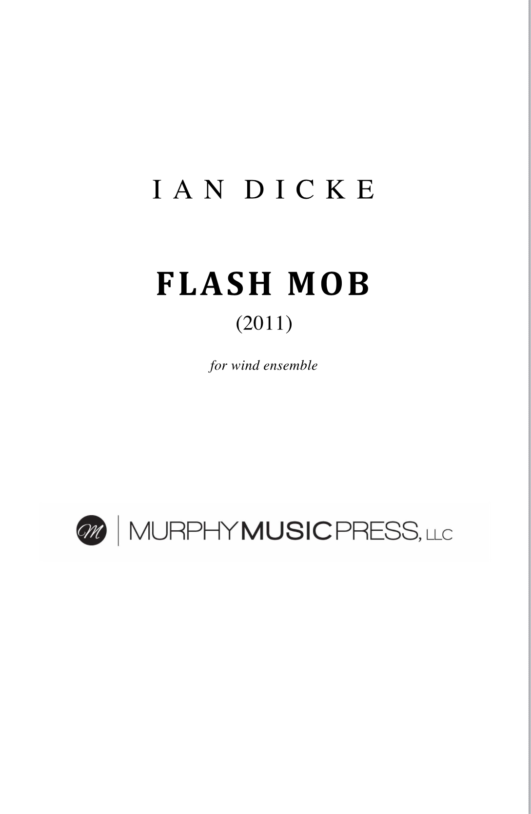 Flash Mob by Ian Dicke