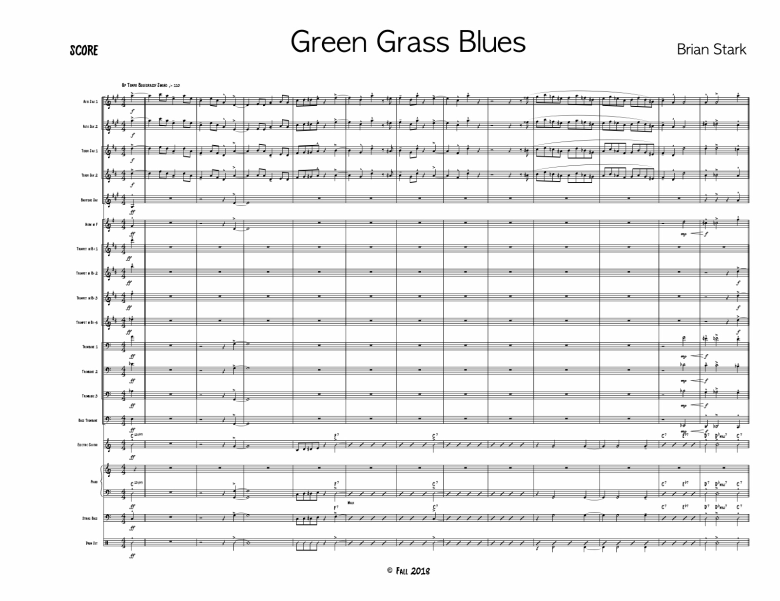 Green Grass Blues by Brian Stark