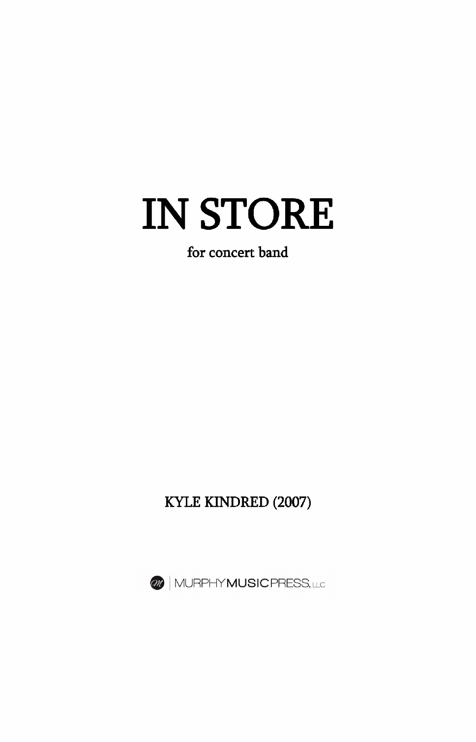 In Store by Kyle Kindred