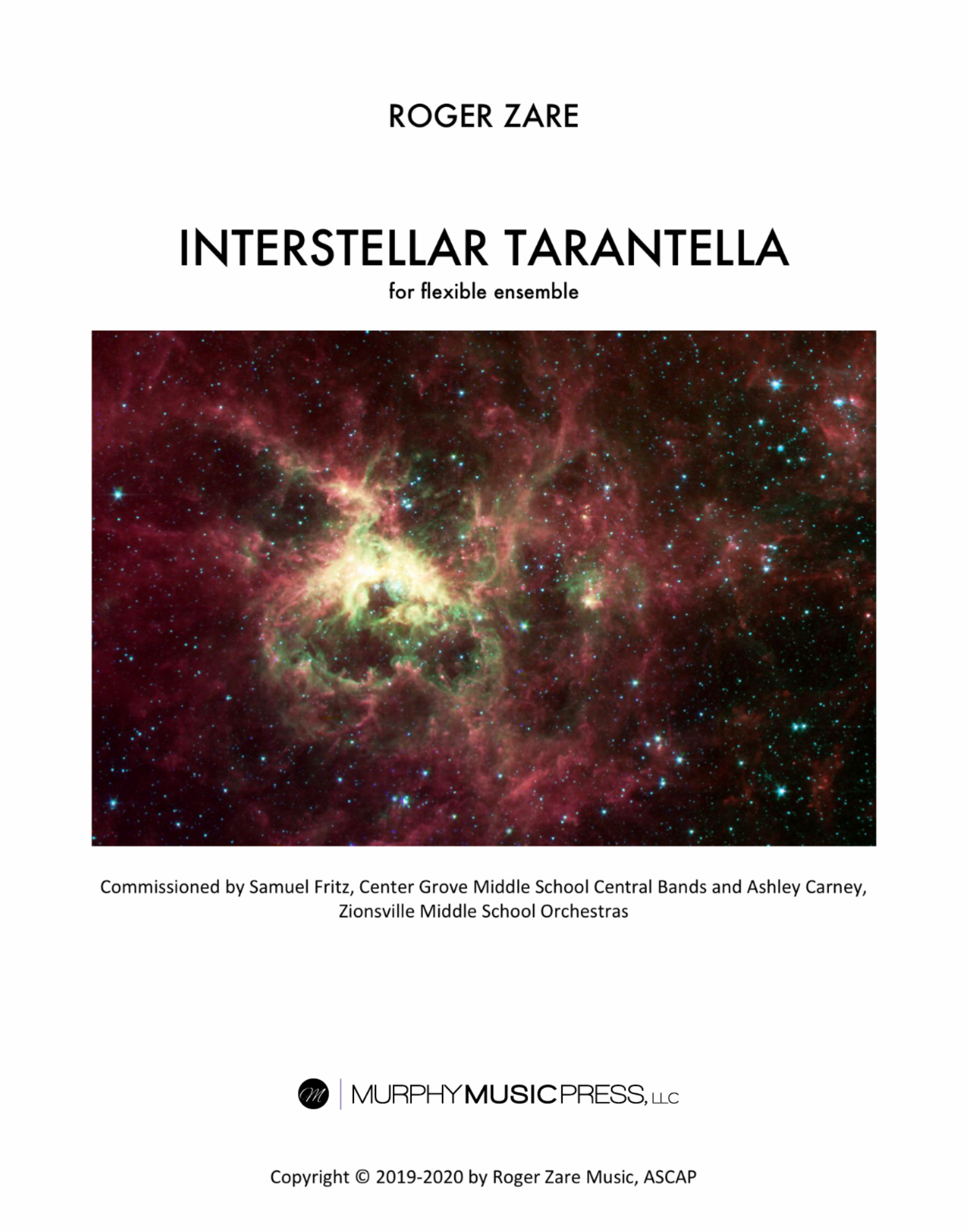 Interstellar Tarantella (Flex Version)  by Roger Zare