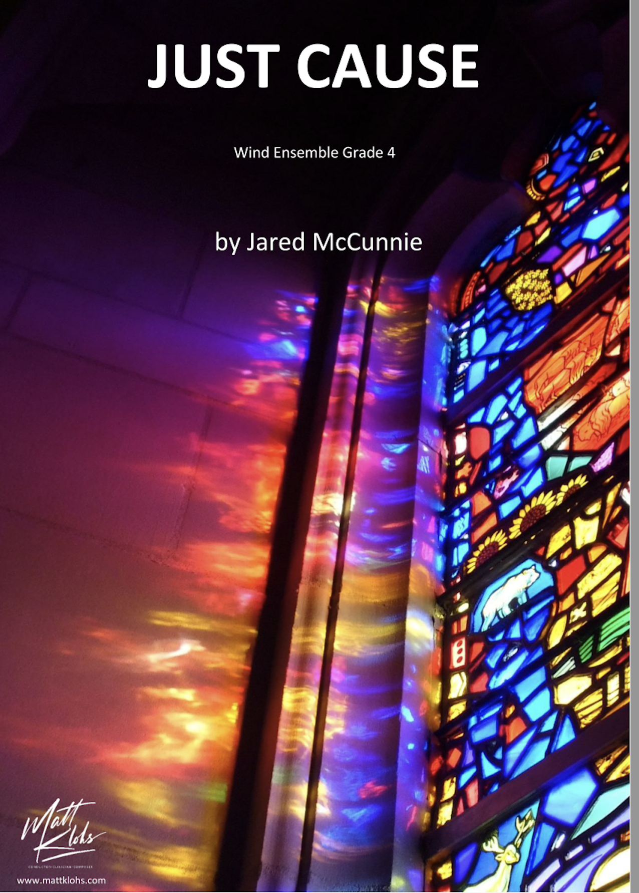 Just Cause by Jared McCunnie