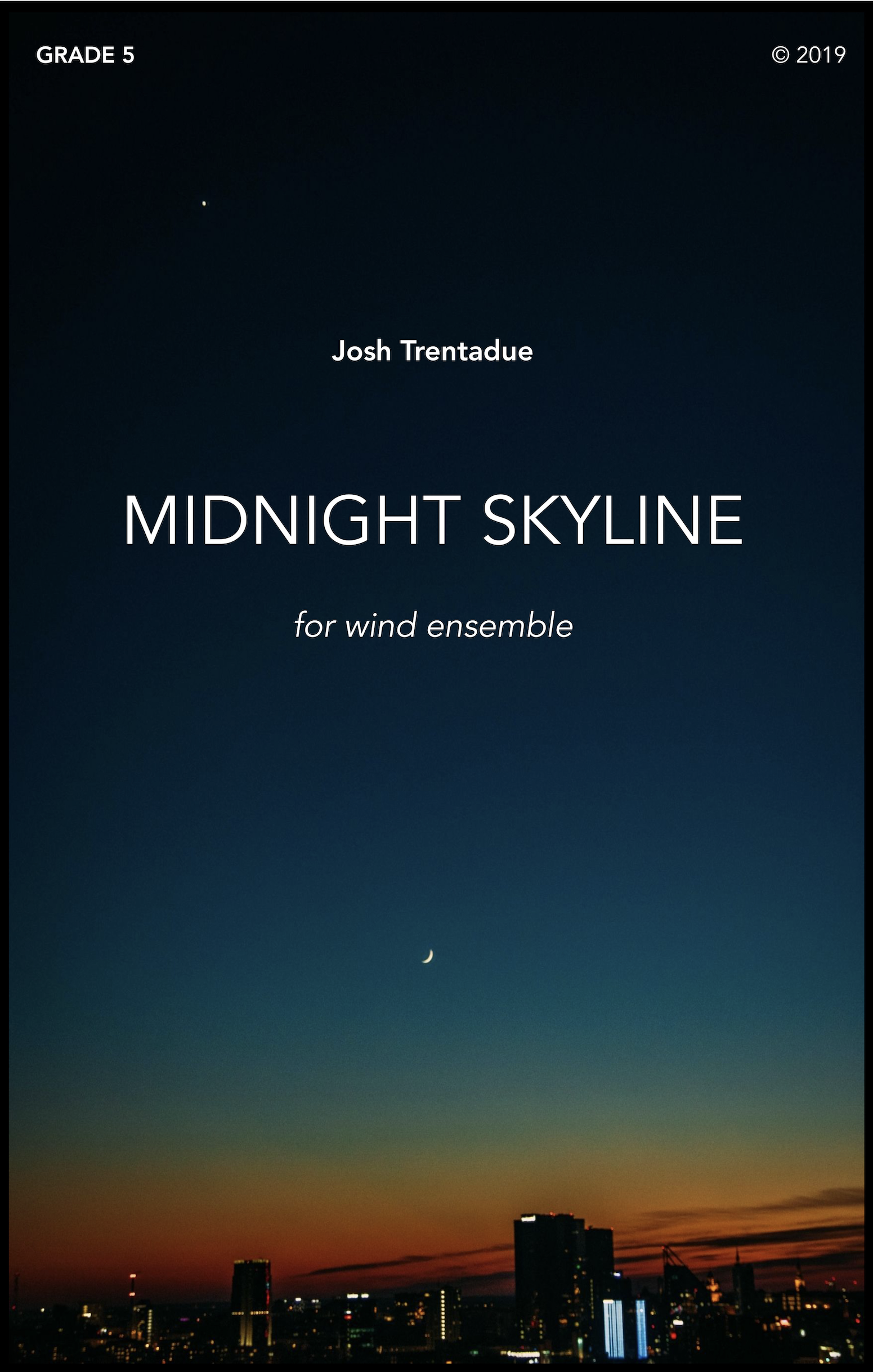 Midnight Skyline by Josh Trentadue