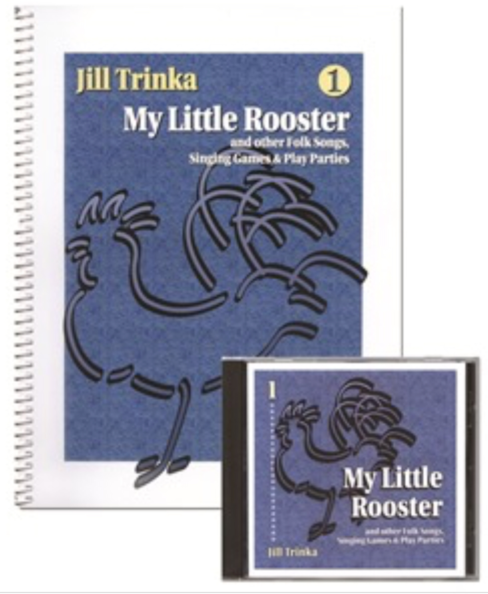 My Little Rooster (Book And CD) by Jill Trinka