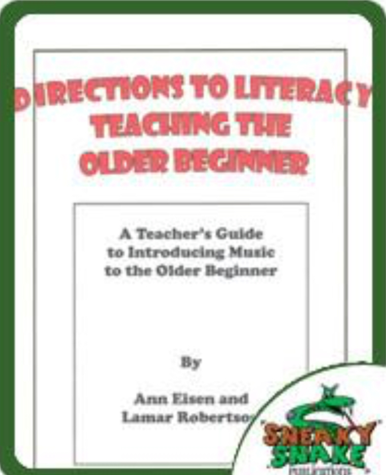Older Beginners by Eisen and Ronertson