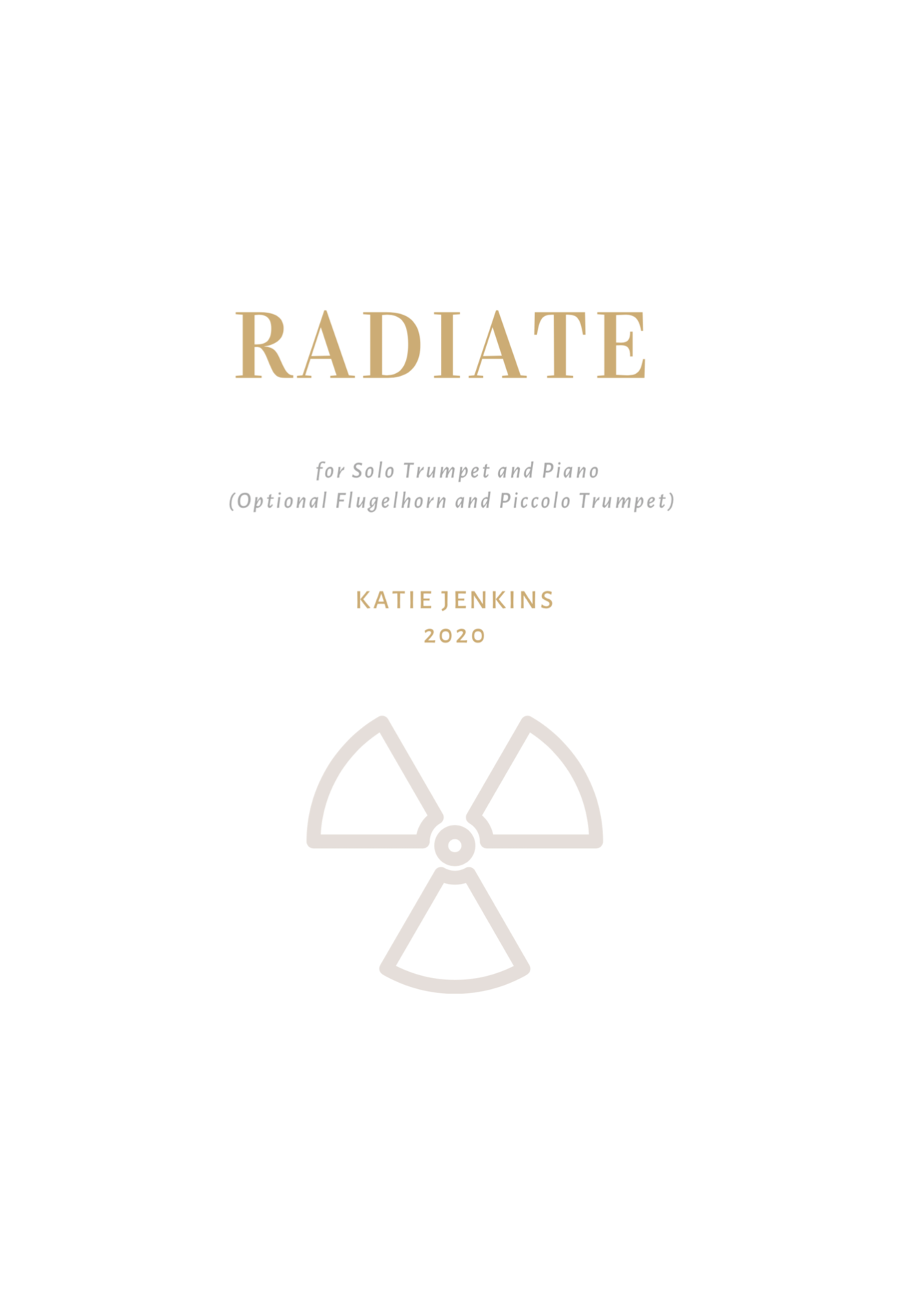Radiate (WIth Optional Parts) by Katie Jenkins