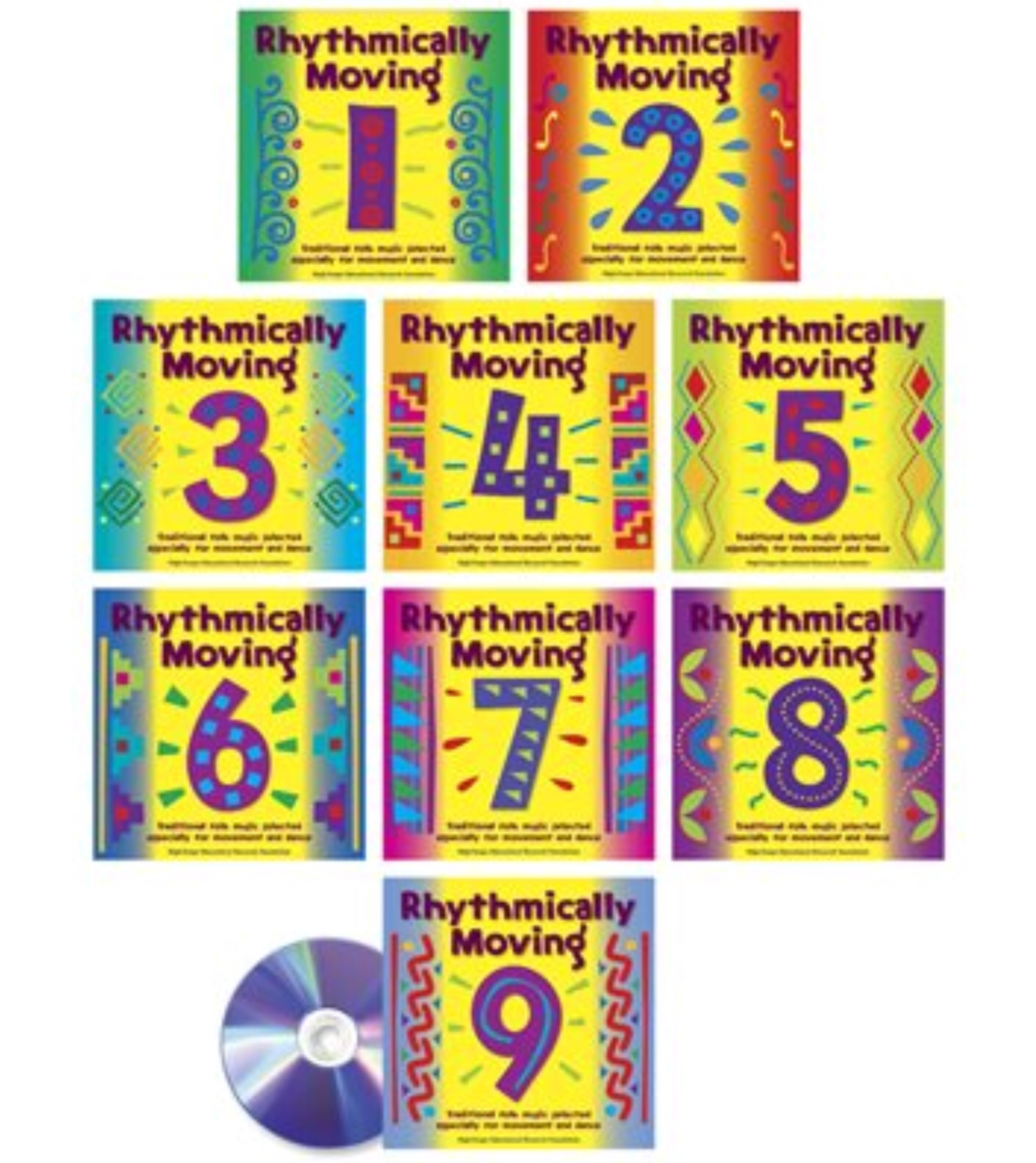 Rhythmically Moving, 9 CD Set by Highscope Publications