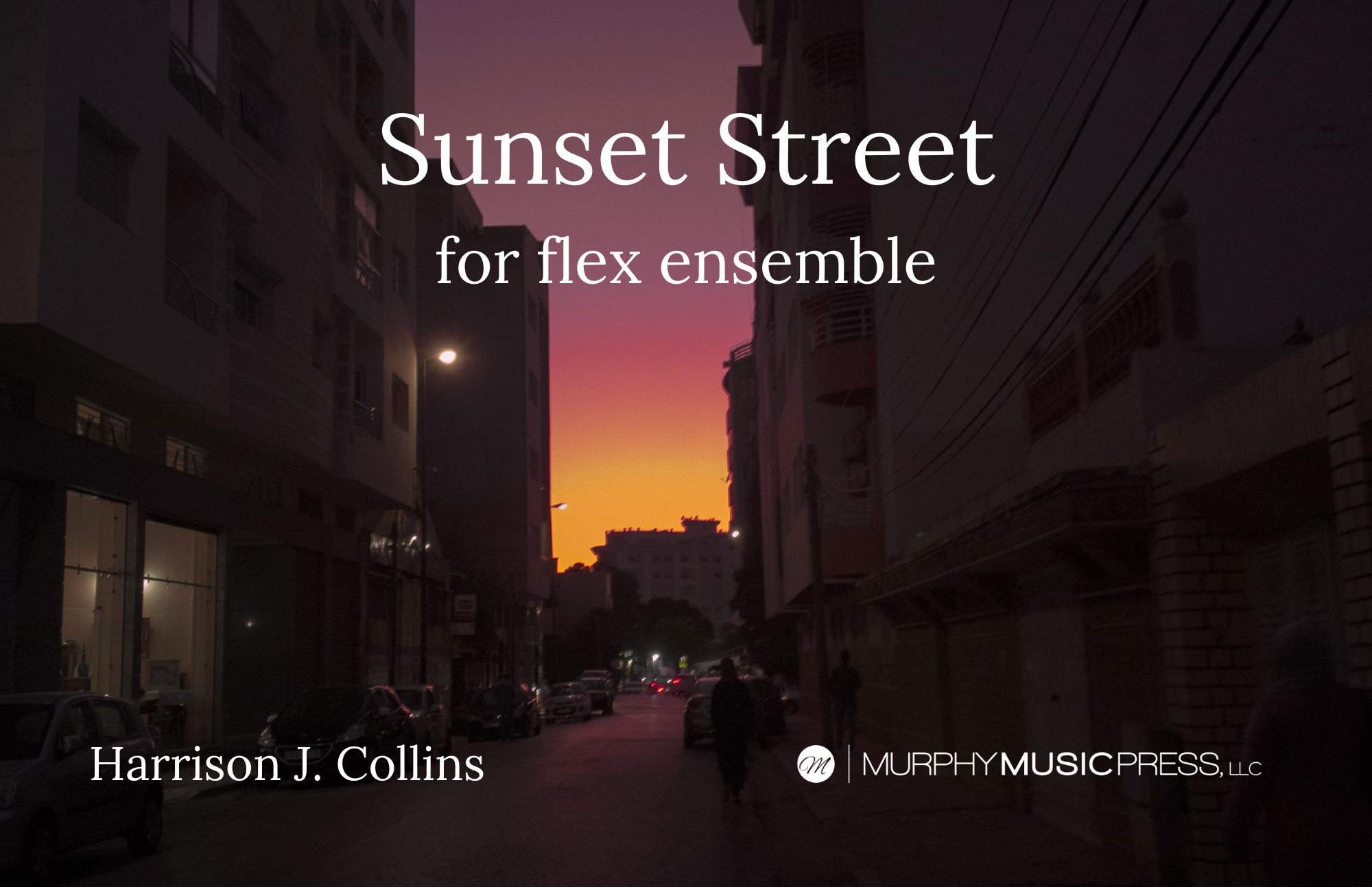 Sunset Street by Harrison Collins