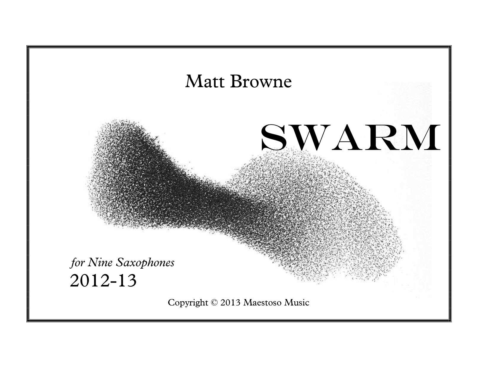 Swarm by Matthew Browne