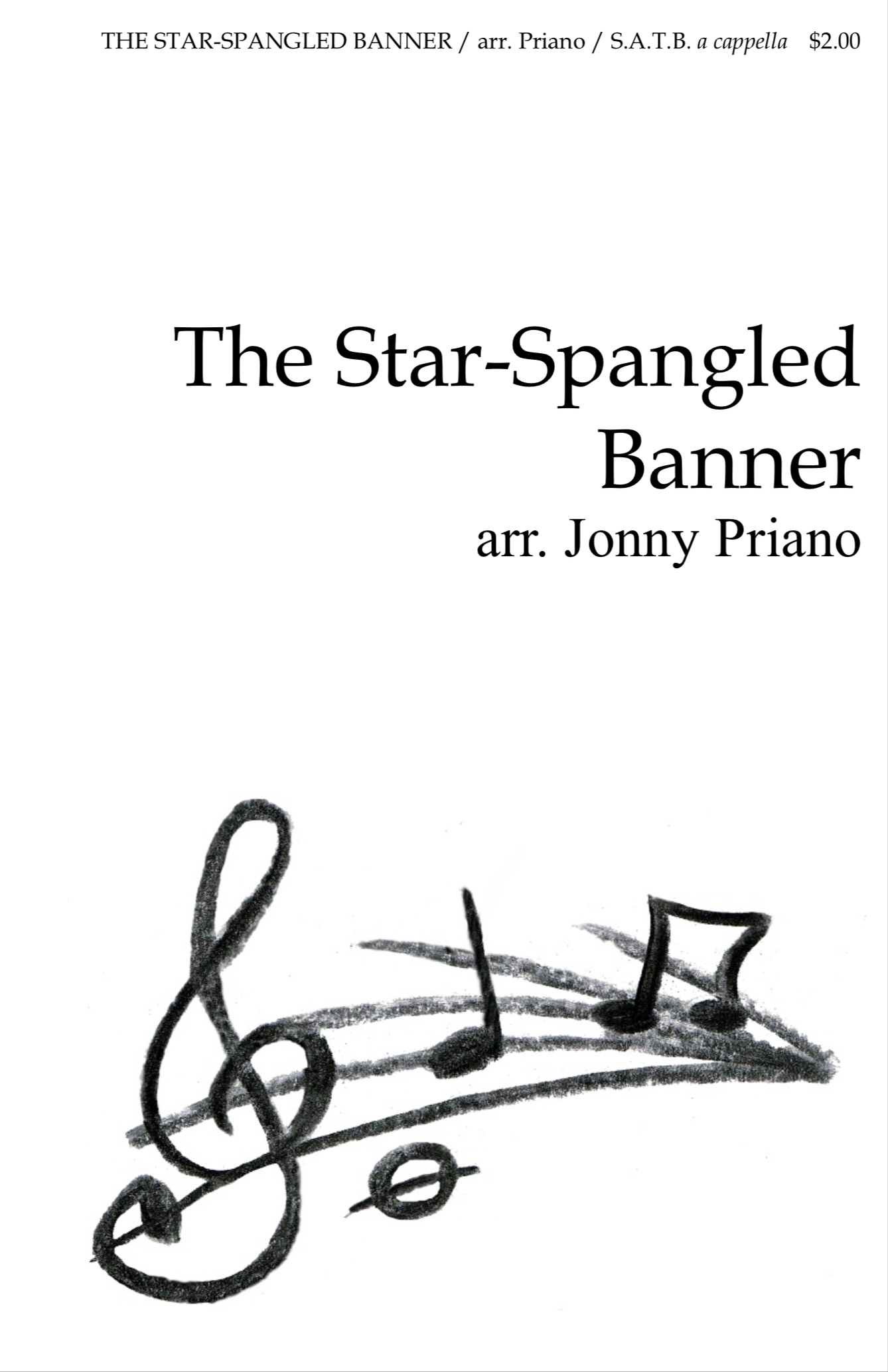 The Star Spangled Banner by arr. Priano
