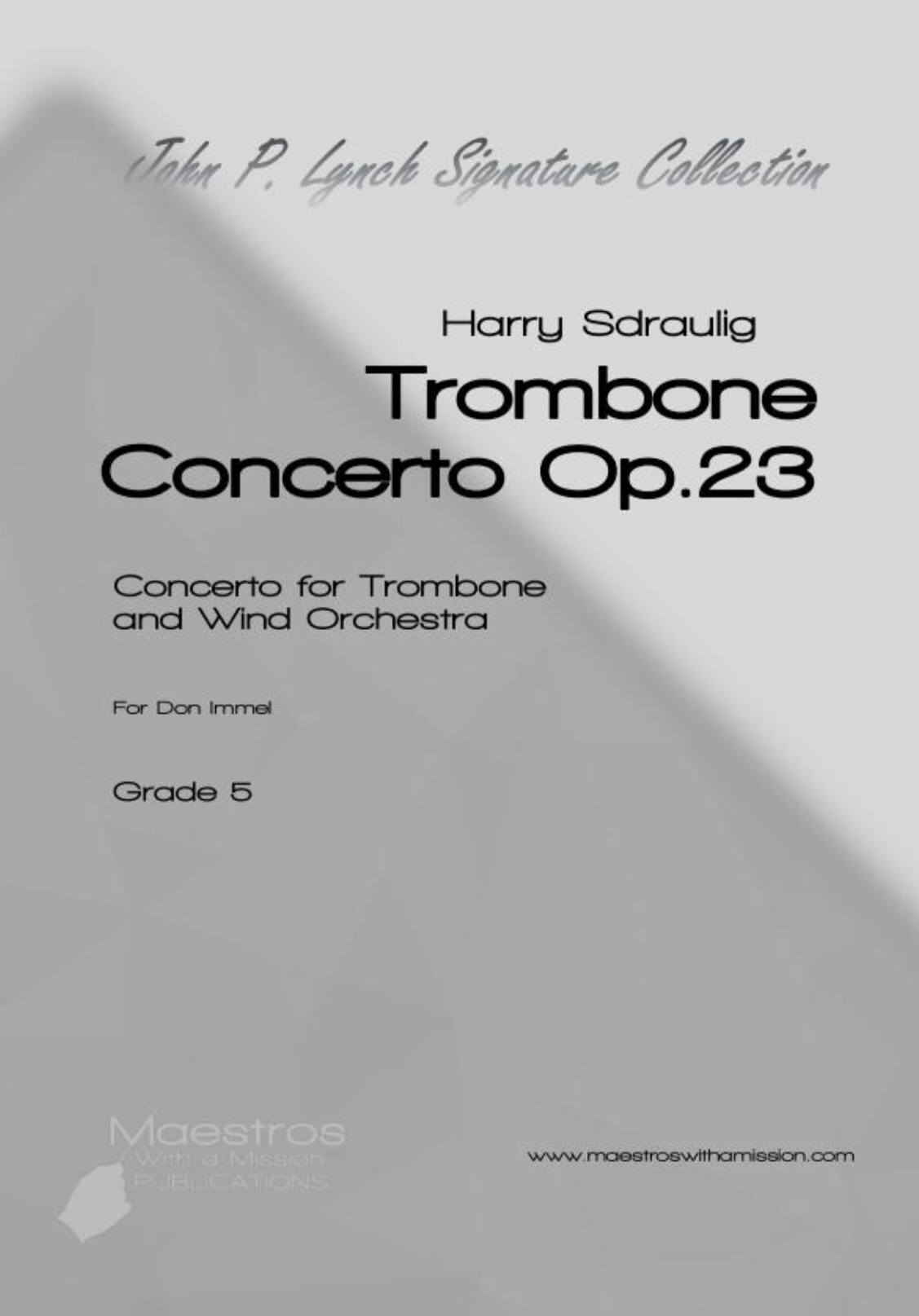 Trombone Concerto, Op. 23 by Harry Sdraulig