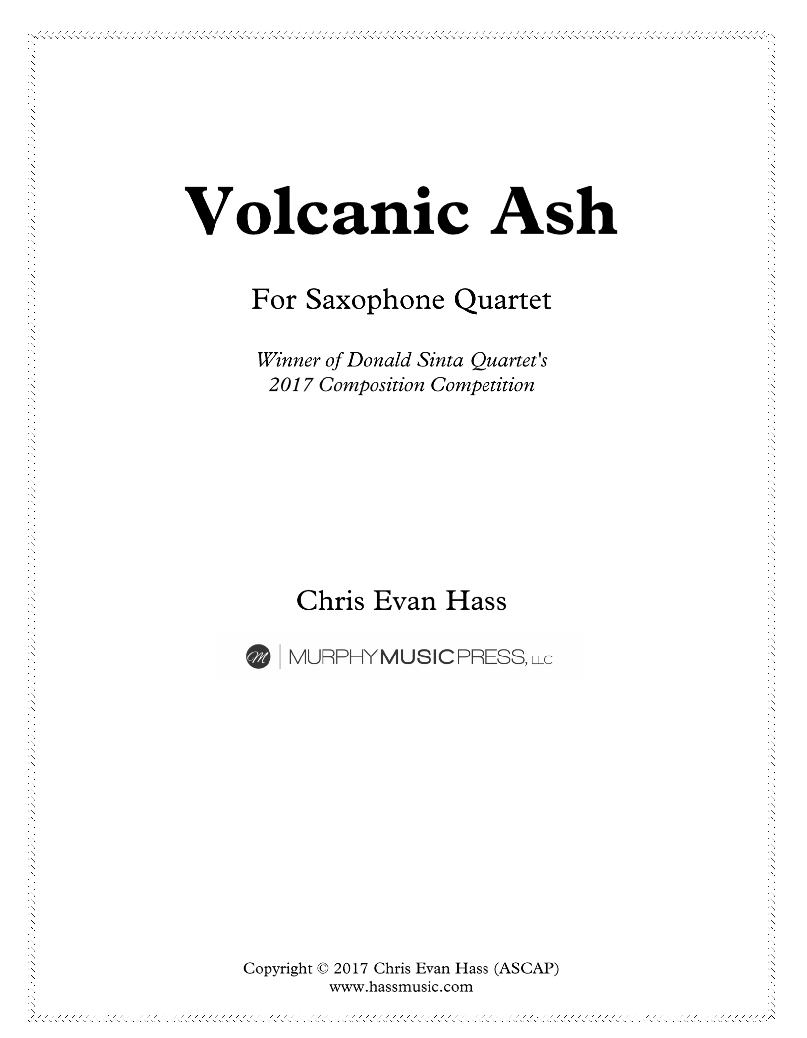 Volcanic Ash by Chris Hass