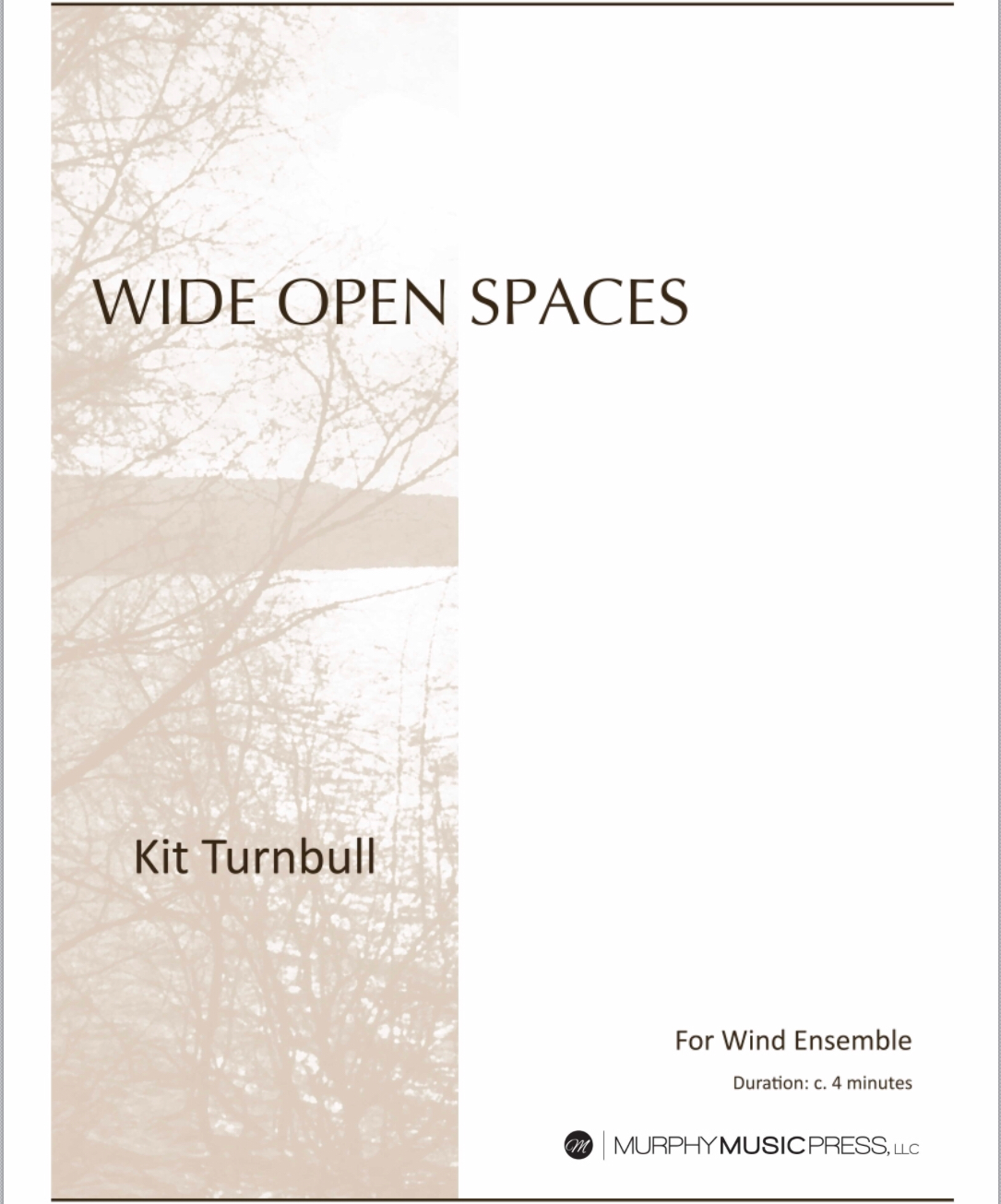 Wide Open Spaces  by Kit Turnbull