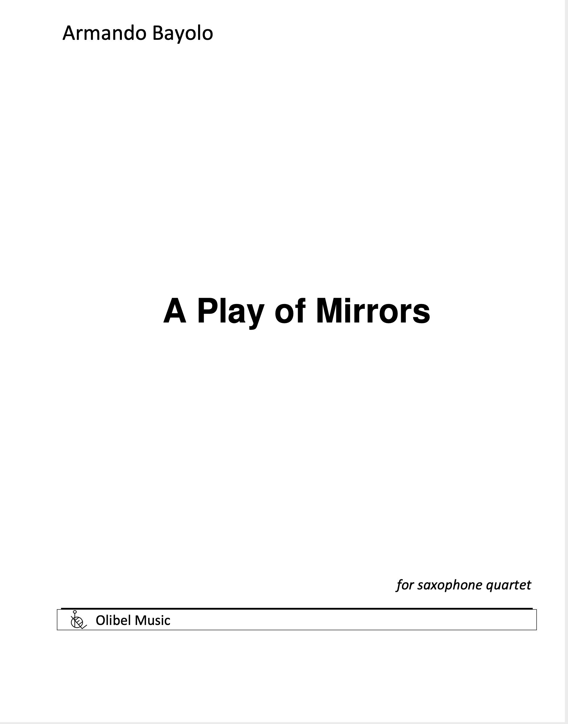 A Play Of Mirrors by Armando Bayolo