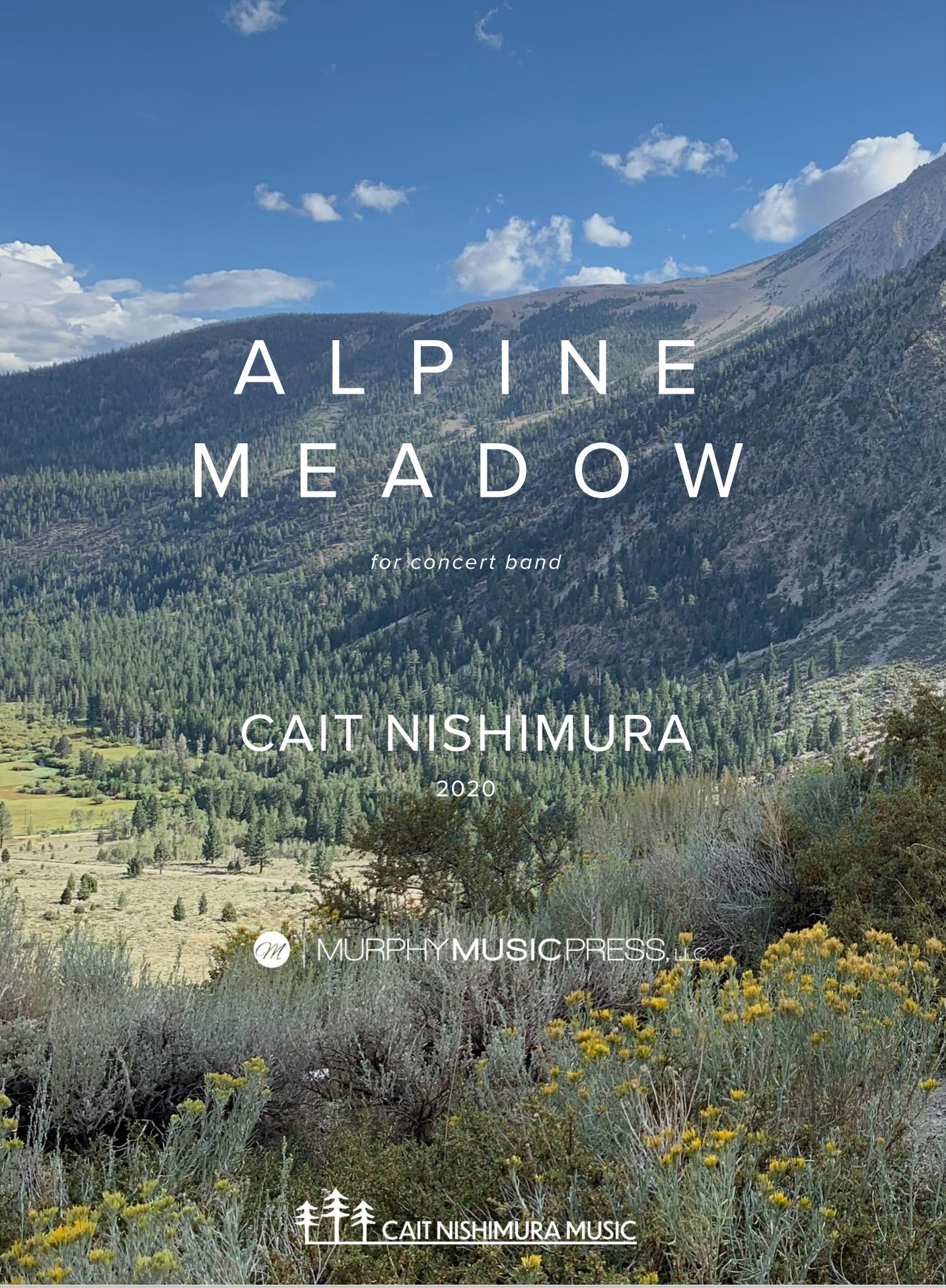 Alpine Meadow by Cait Nishimura