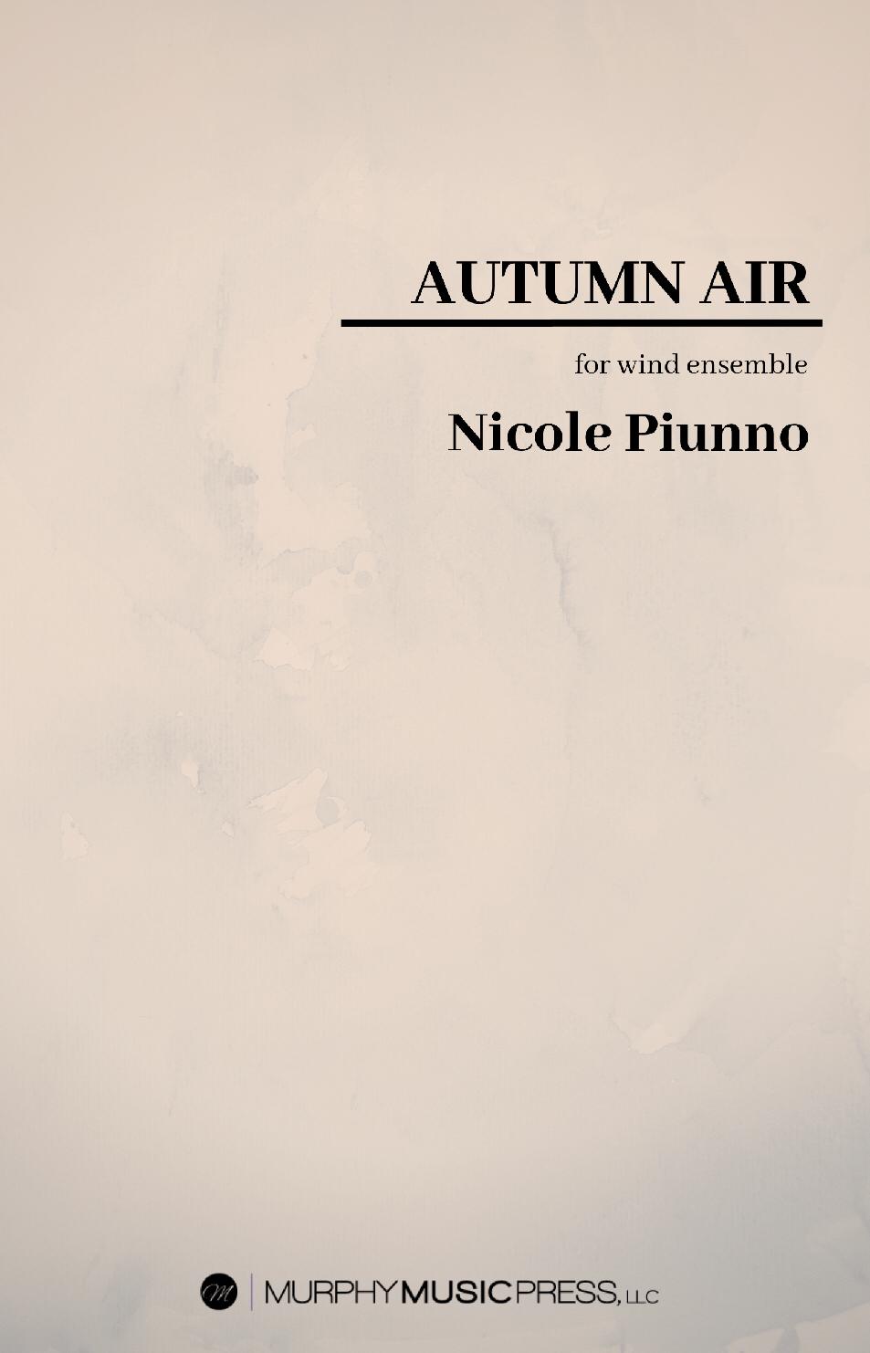 Autumn Air by Nicole Piunno
