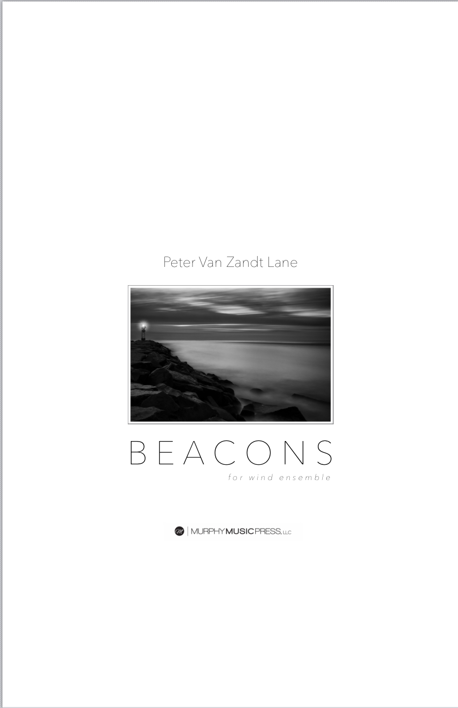 Beacons (parts Rental Only) by Peter Van Zandt Lane