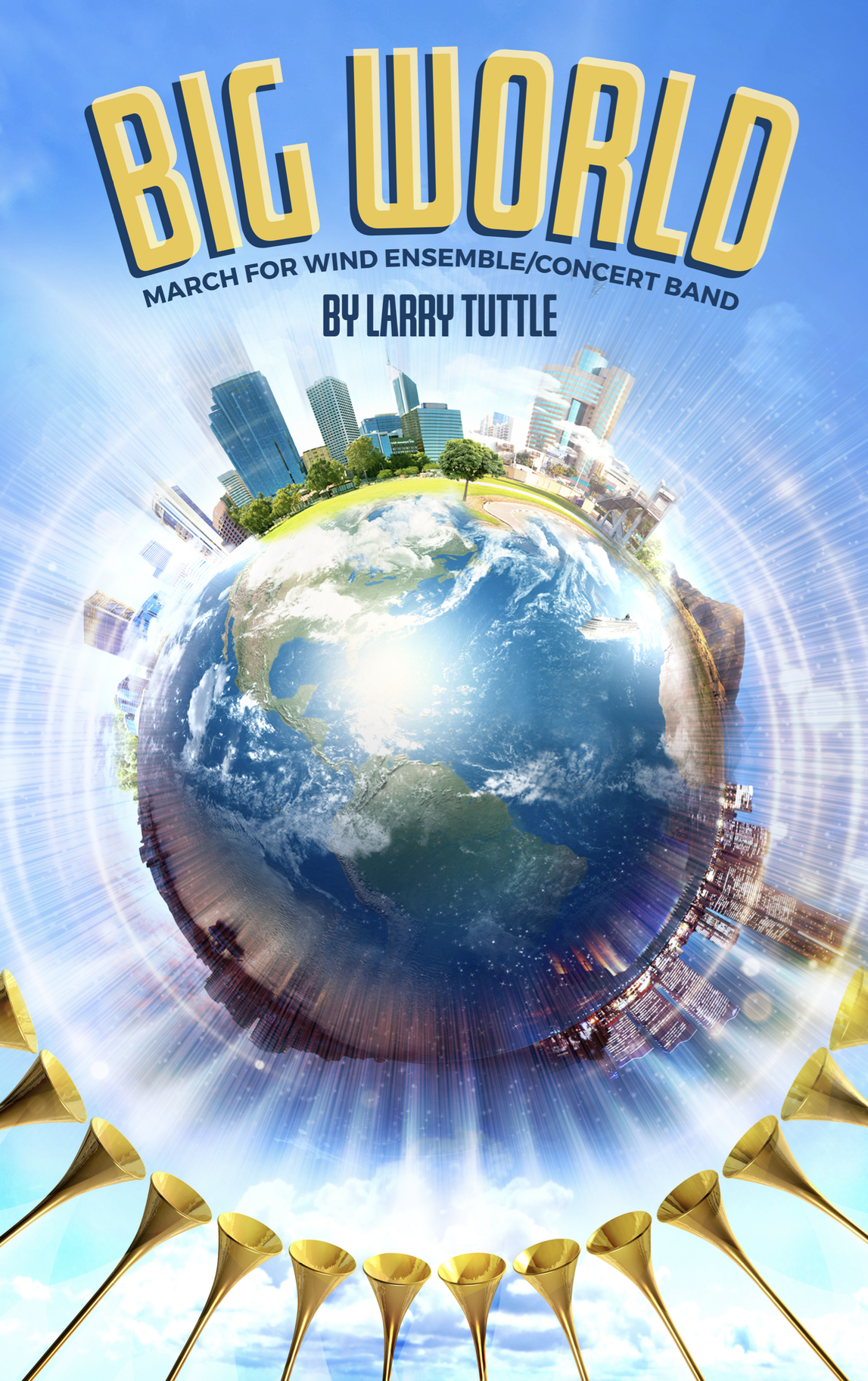 Big World (Score Only) by Larry Tuttle