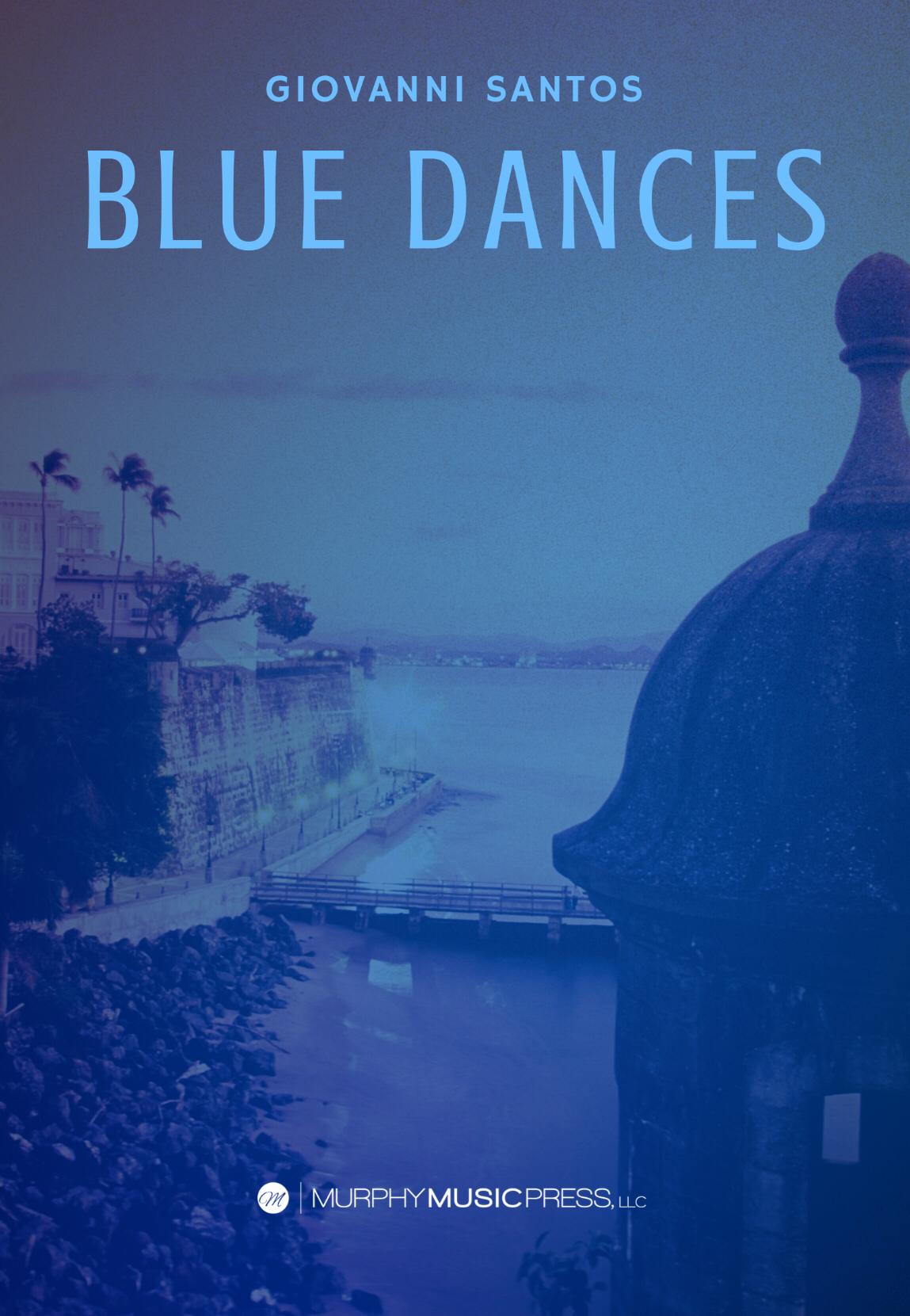 Blue Dances by Giovanni Santos