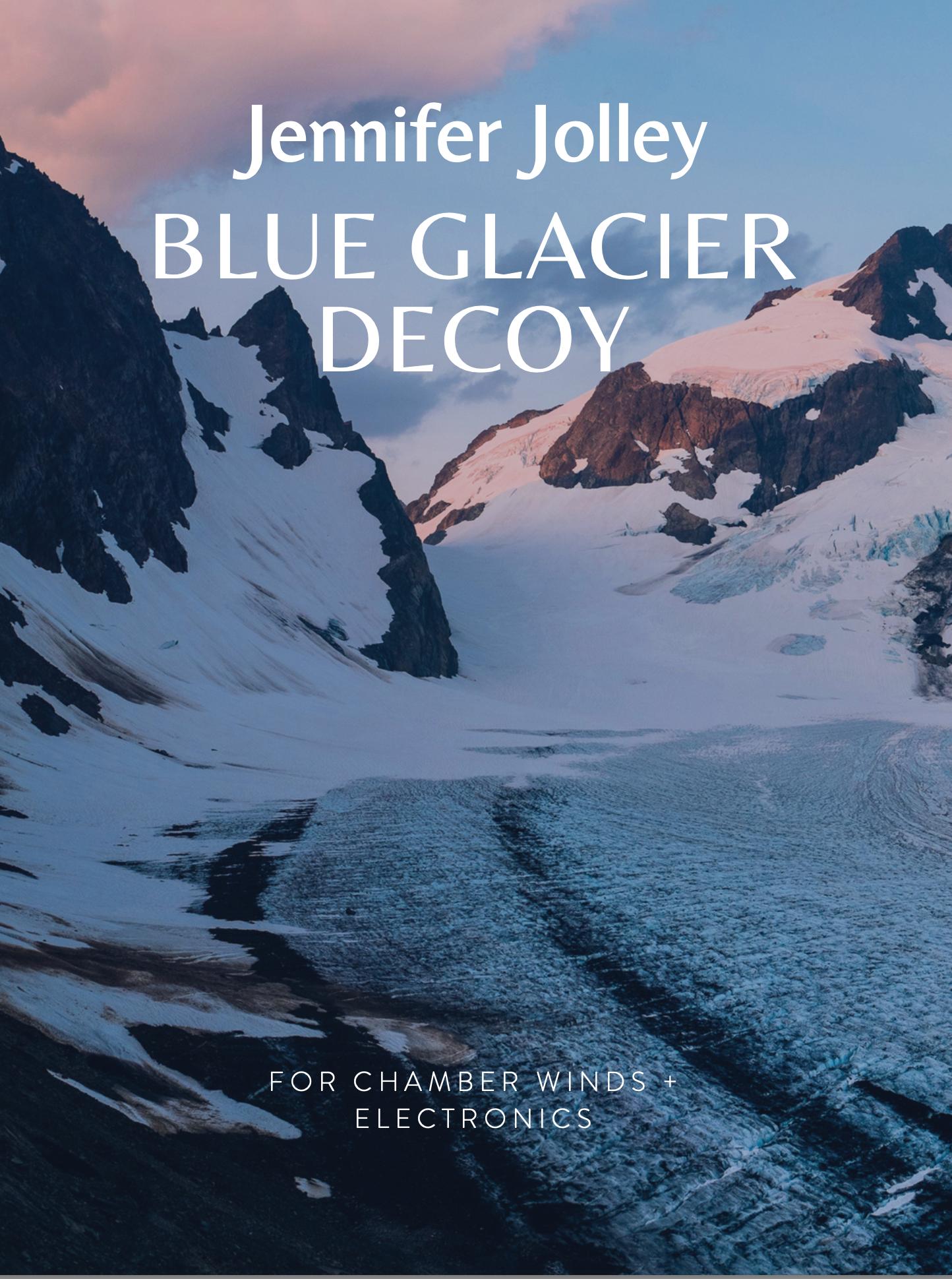 Blue Glacier Decoy by Jennifer Jolley