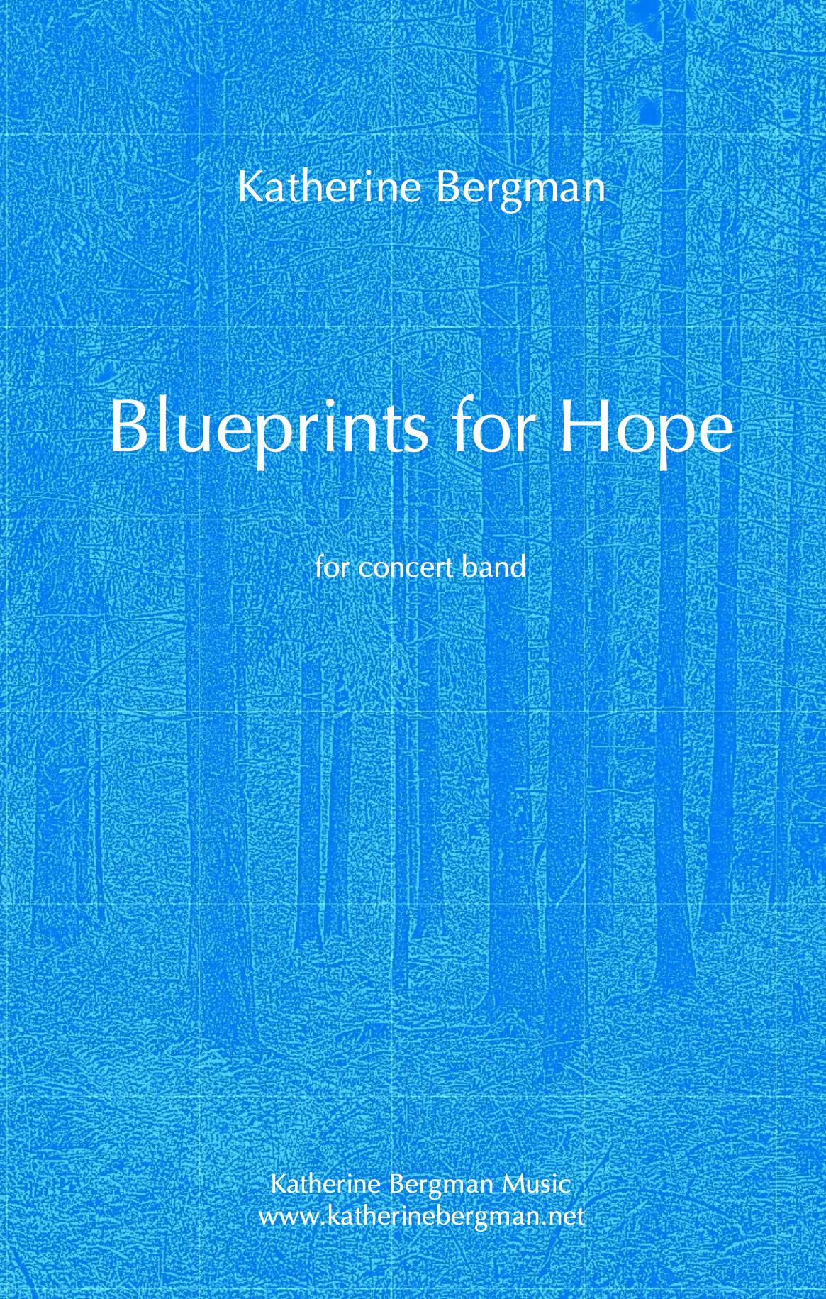 Blueprints For Hope by Katherine Bergman