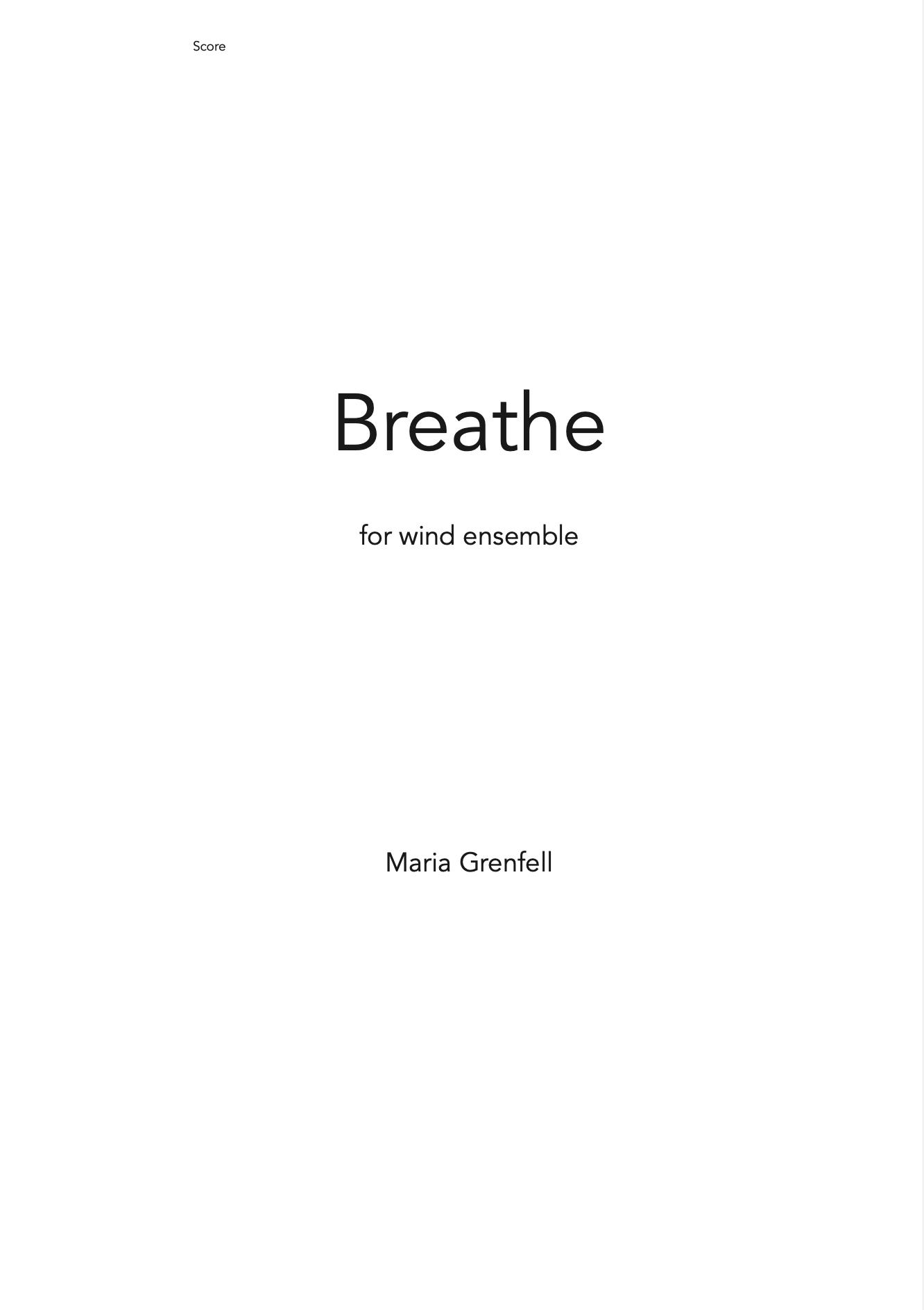 Breathe by Evan Williams