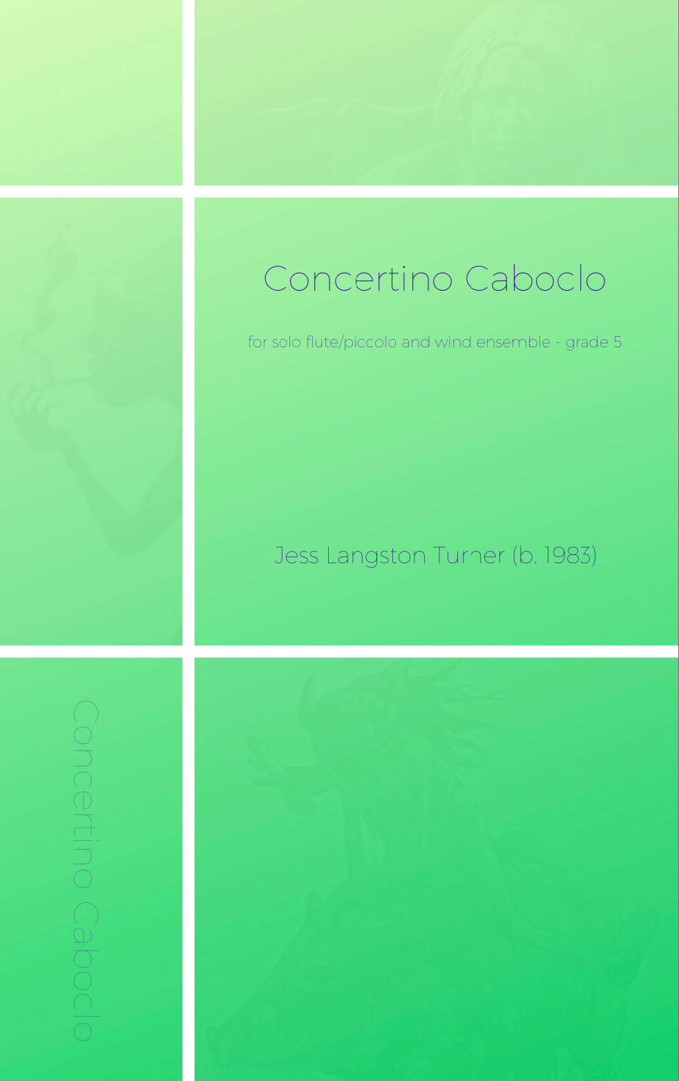 Concertino Caboclo (score Only) by Jess Turner