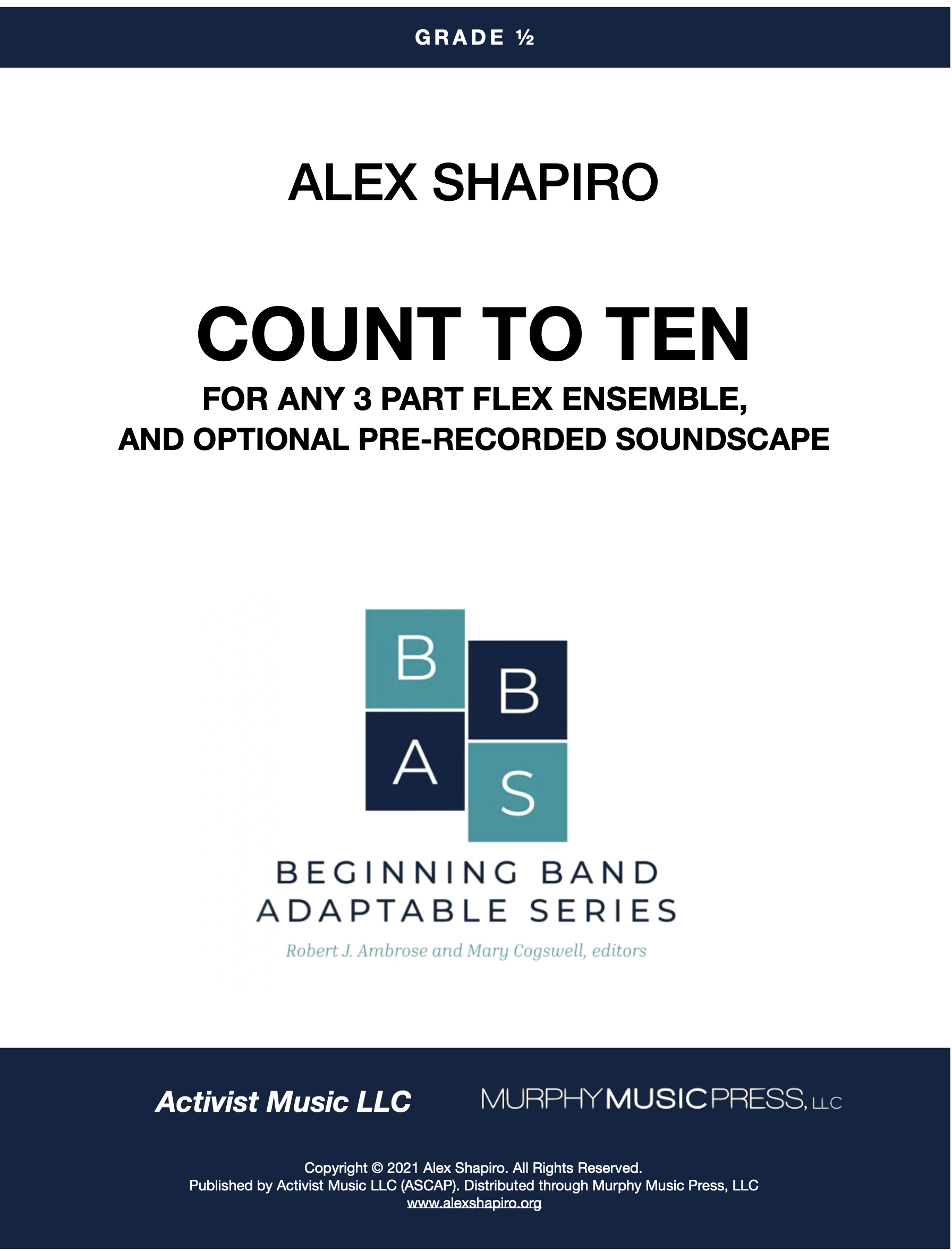 Count To Ten by Alex Shapiro