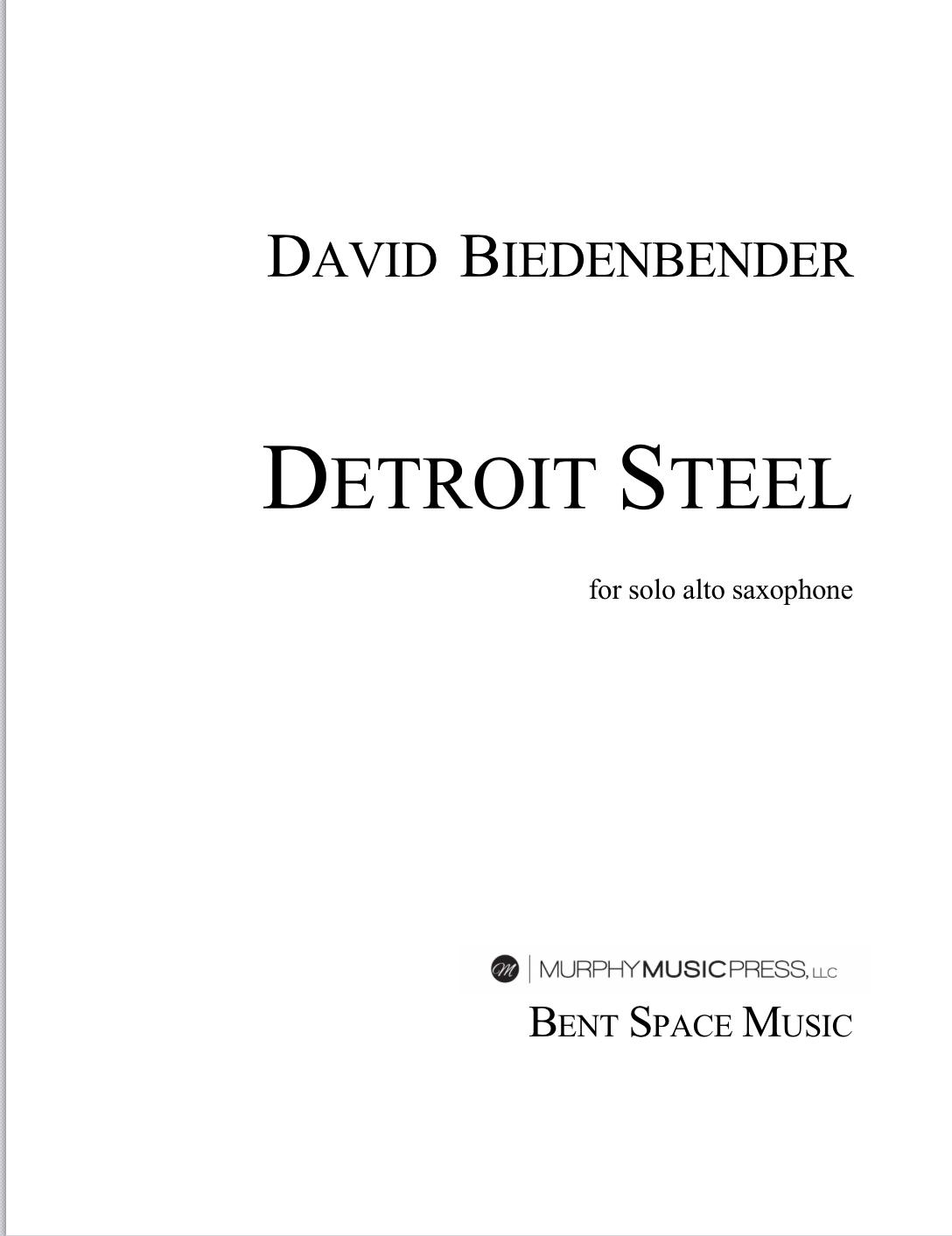 Detroit Steel by David Biedenbender