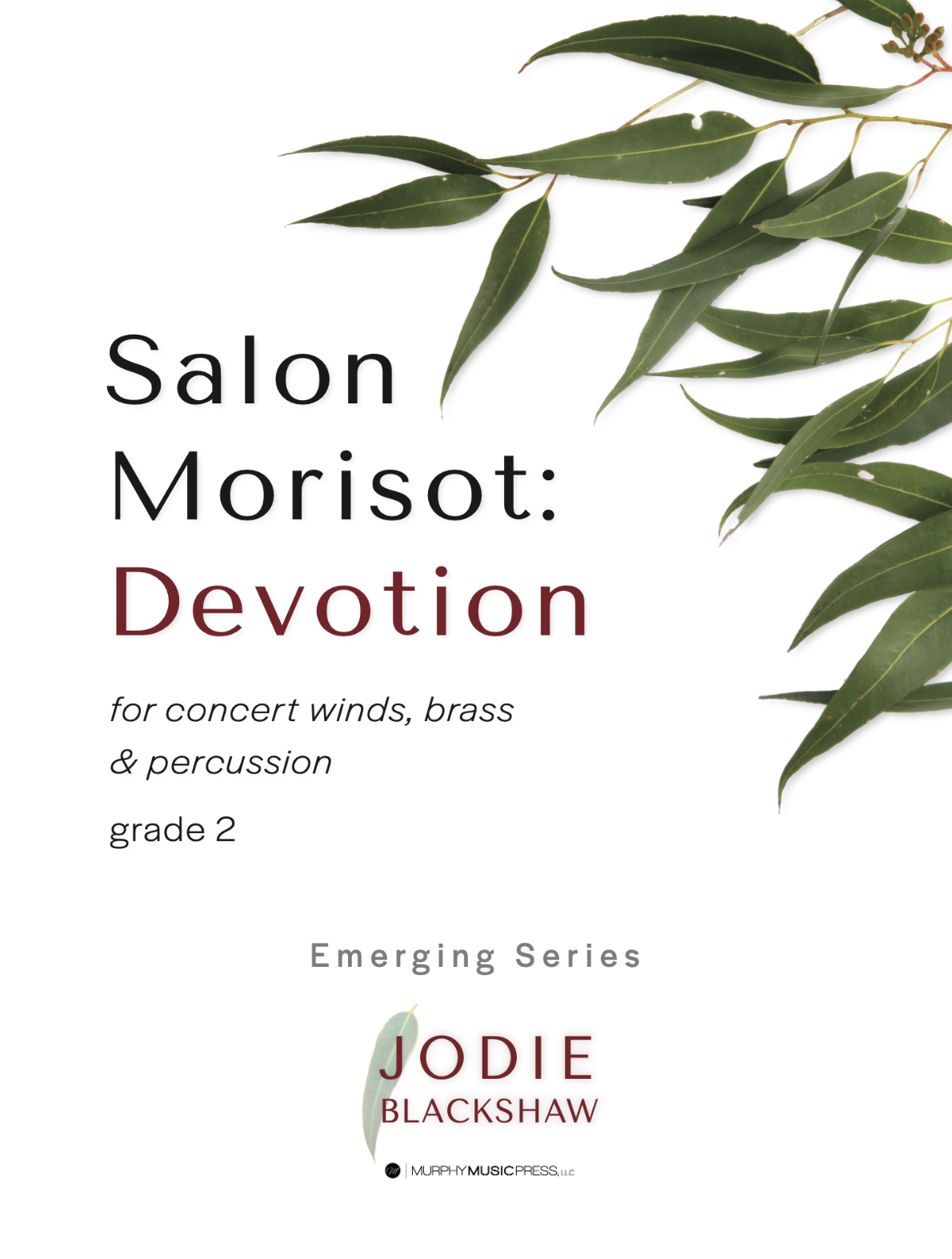 Devotion (Score Only) by Jodie Blackshaw