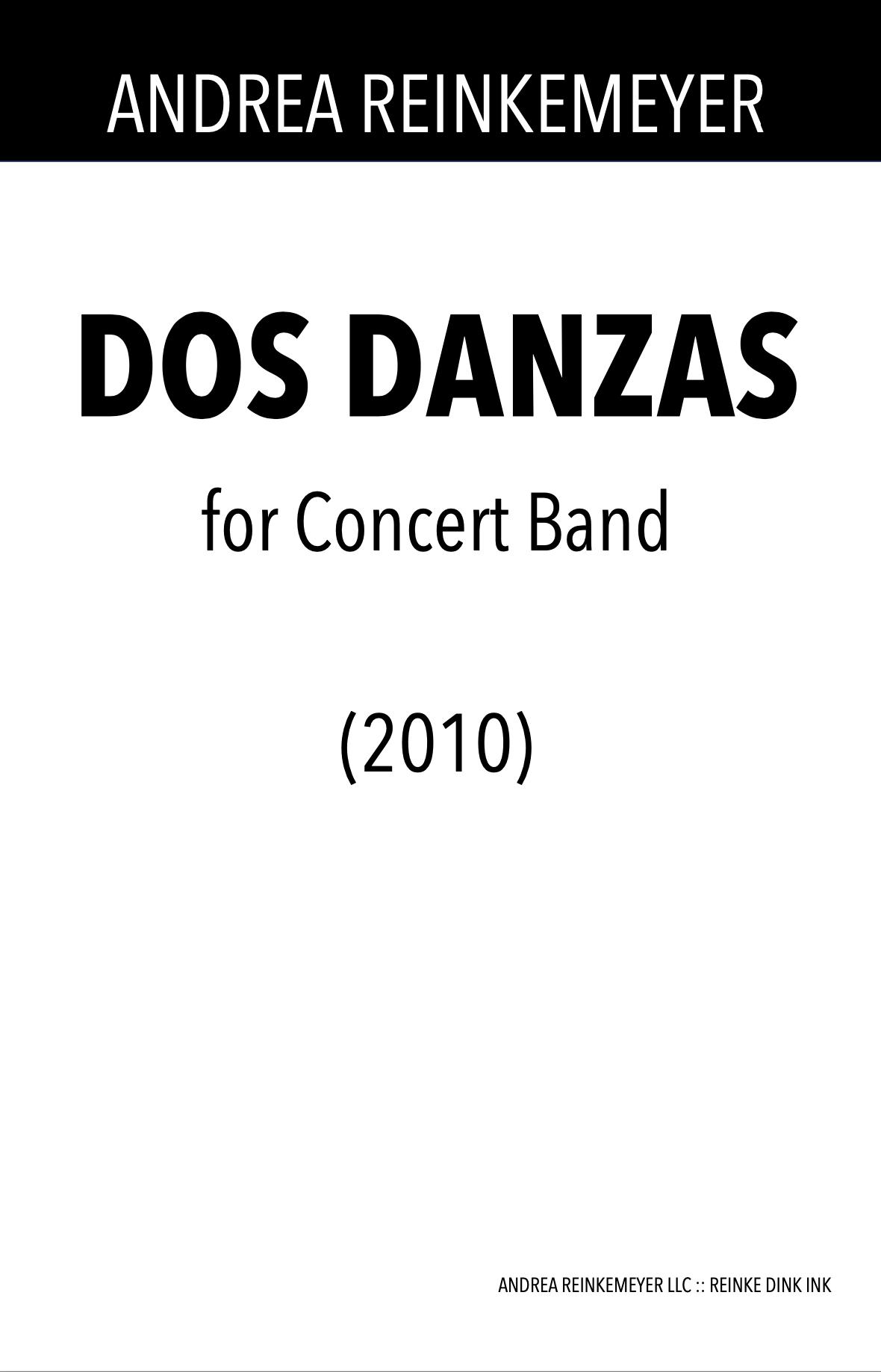 Dos Danzas by Andrea Reinkemeyer