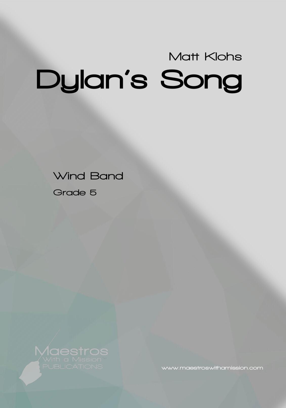 Dylan's Song by Matt Klohs