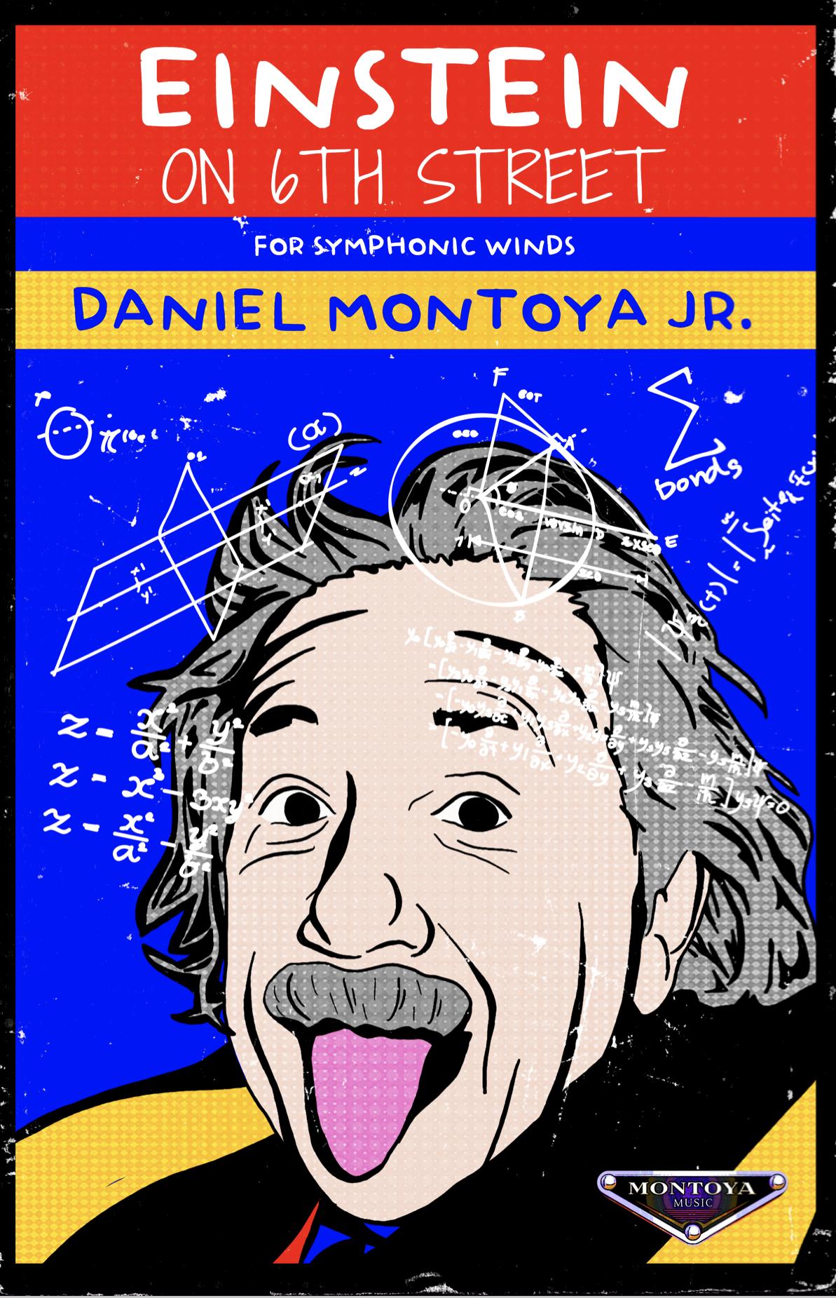 Einstein On 6th Street by Daniel Montoya Jr.