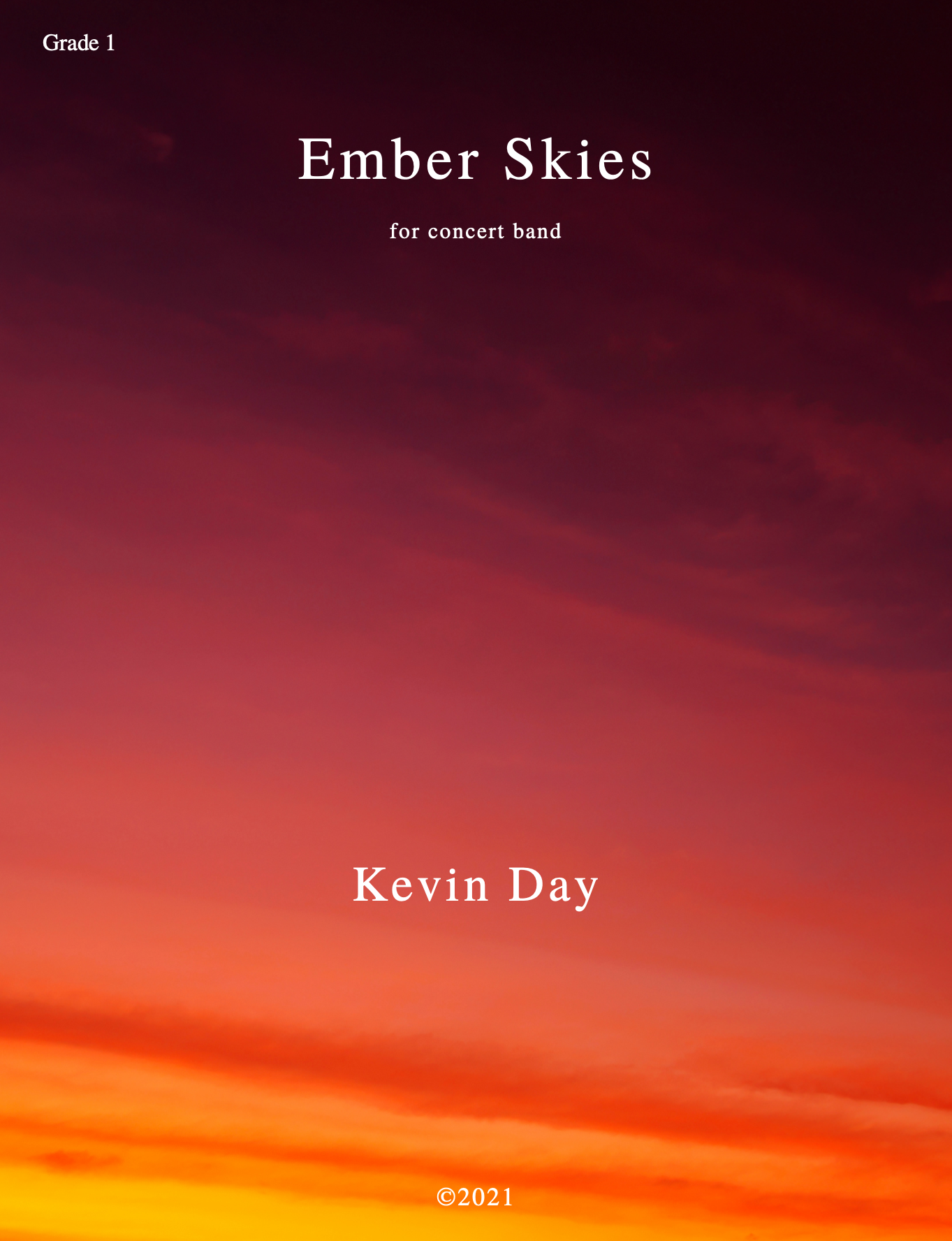 Ember Skies (Score Only) by Kevin Day