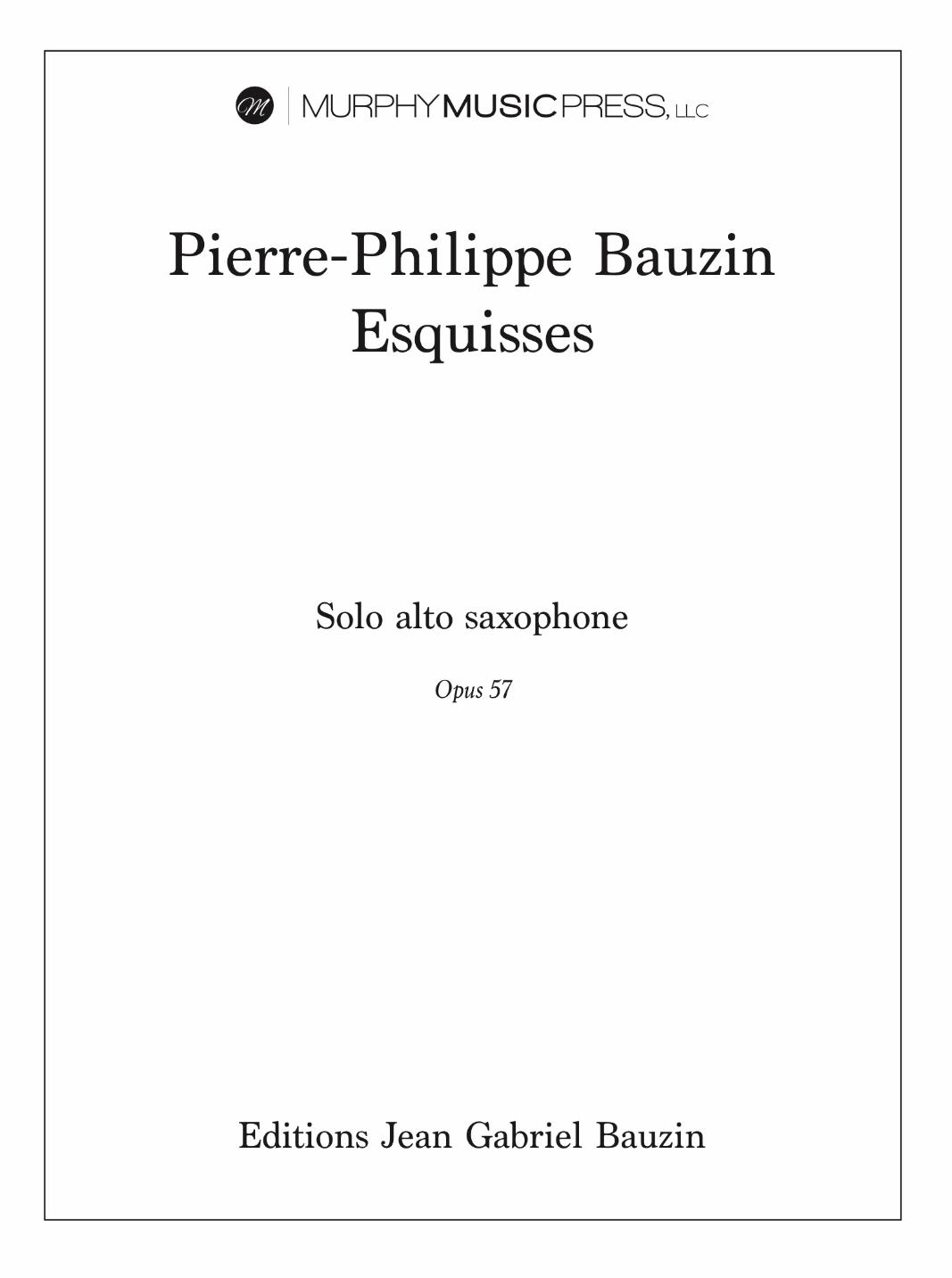 Esquisses: Leggierissimo by Pierre-Philippe Bauzin
