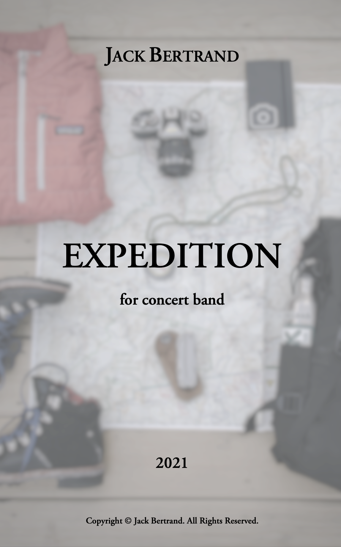Expedition (Score Only) by Jack Bertrand