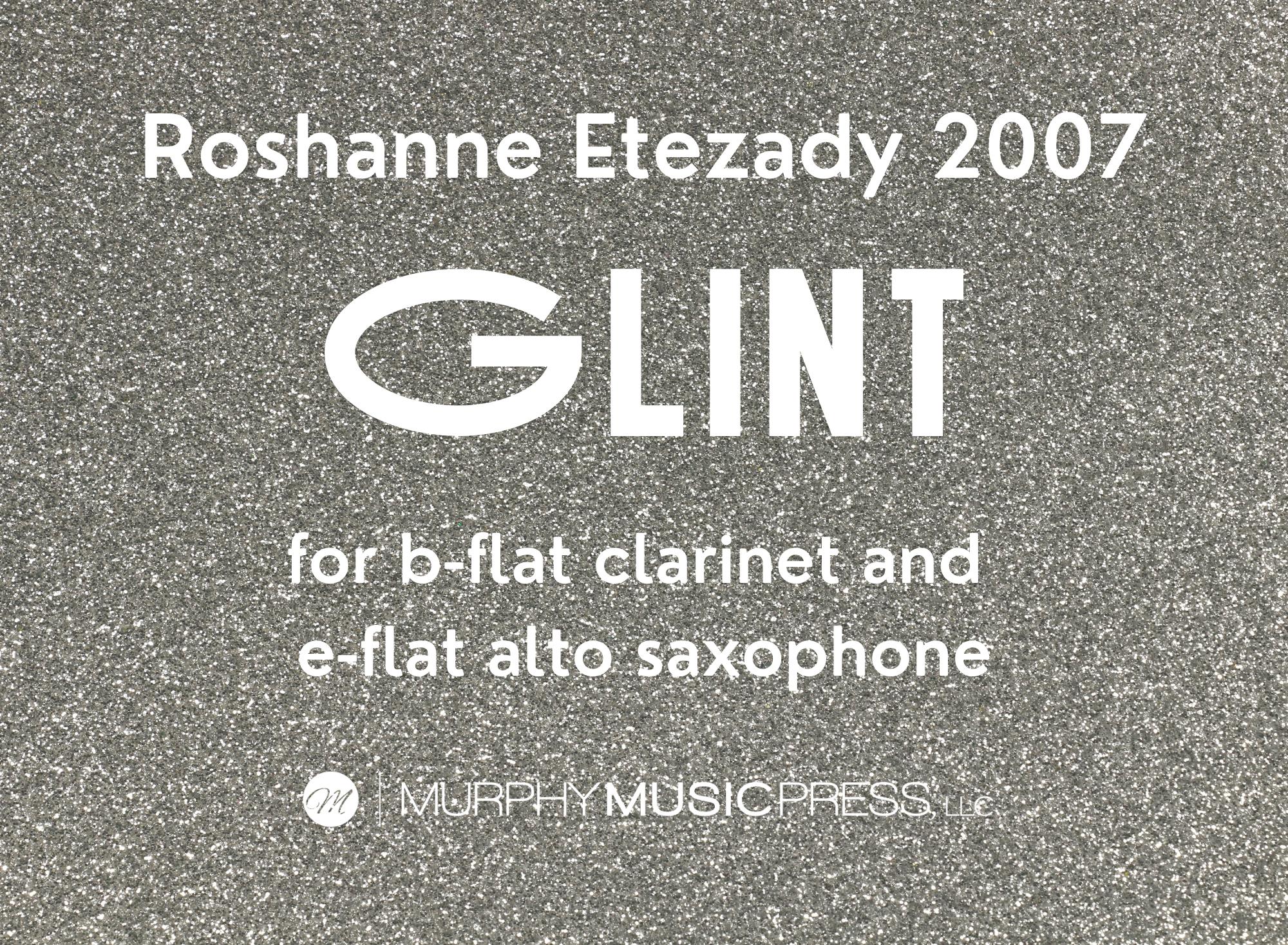 Glint by Roshanne Etezady