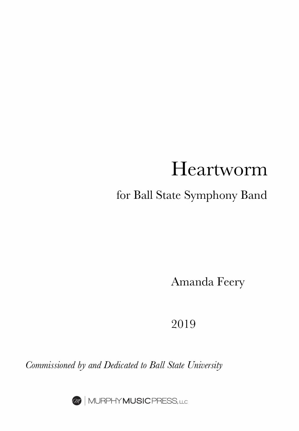 Heartworm by Amanda Feery