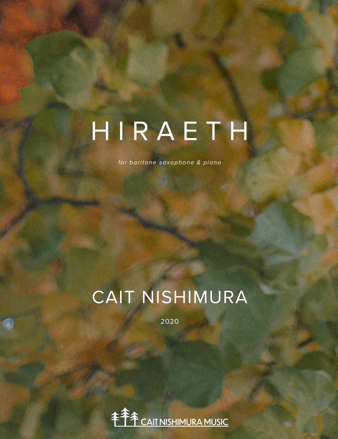 Hiraeth by Cait Nishimura