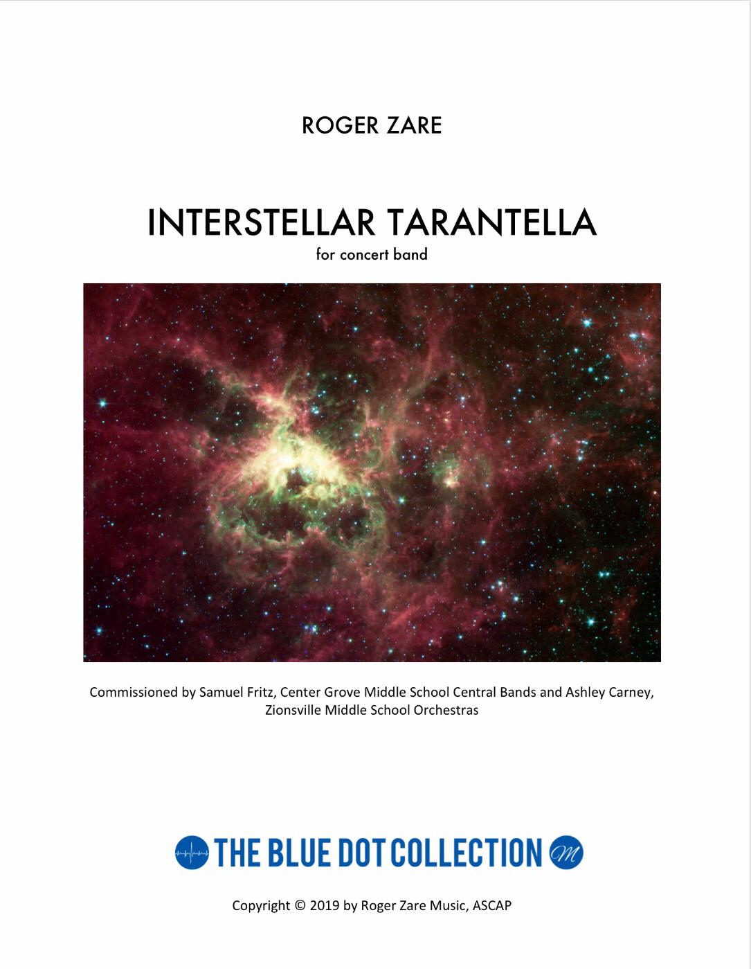 Interstellar Tarantella   by Roger Zare