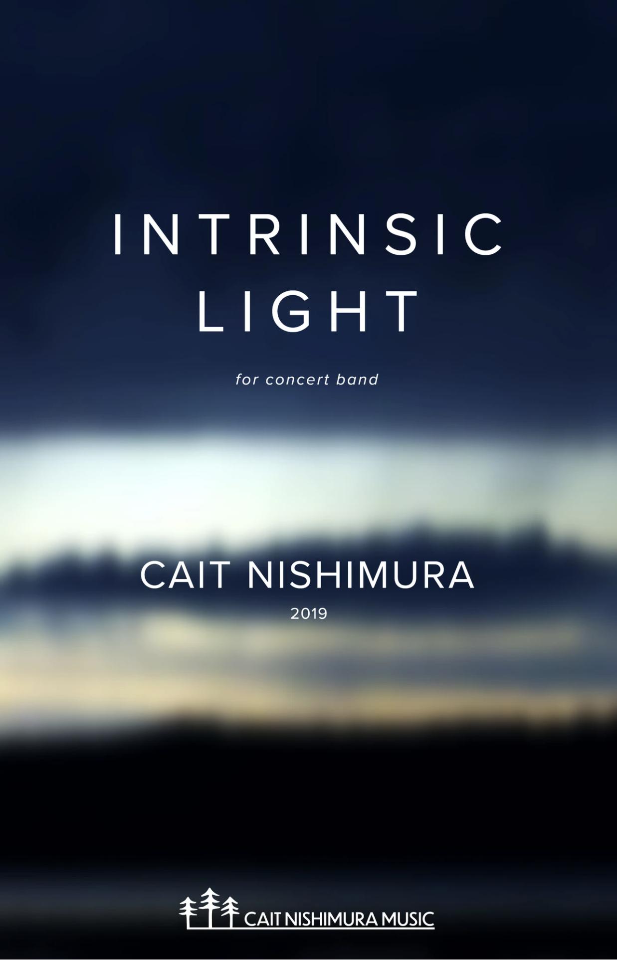 Intrinsic Light by Cait Nishimura
