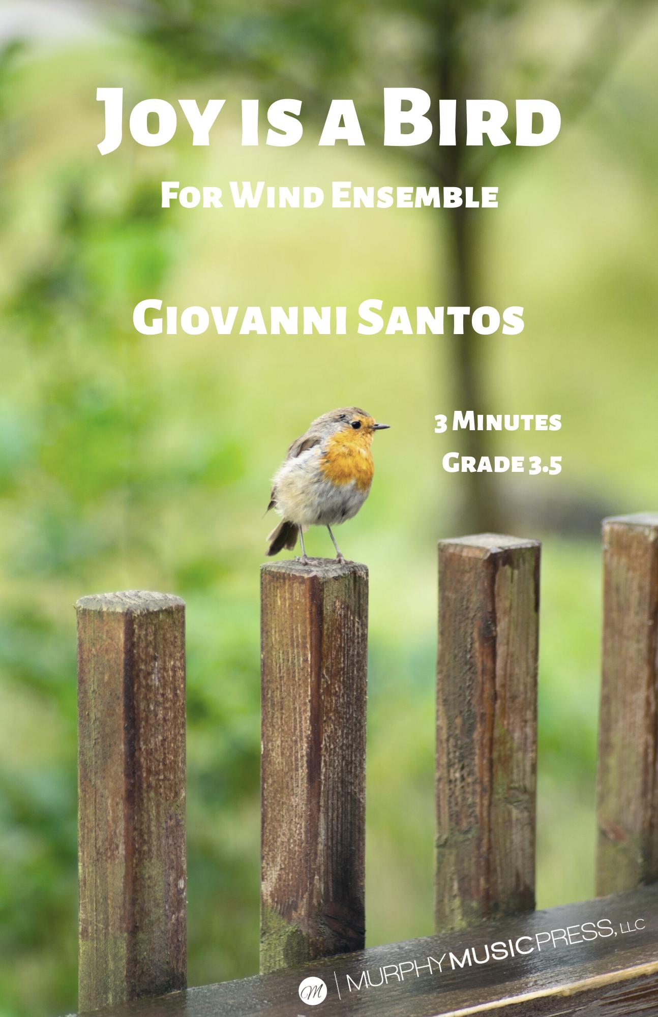 Joy Is A Bird by Giovanni Santos