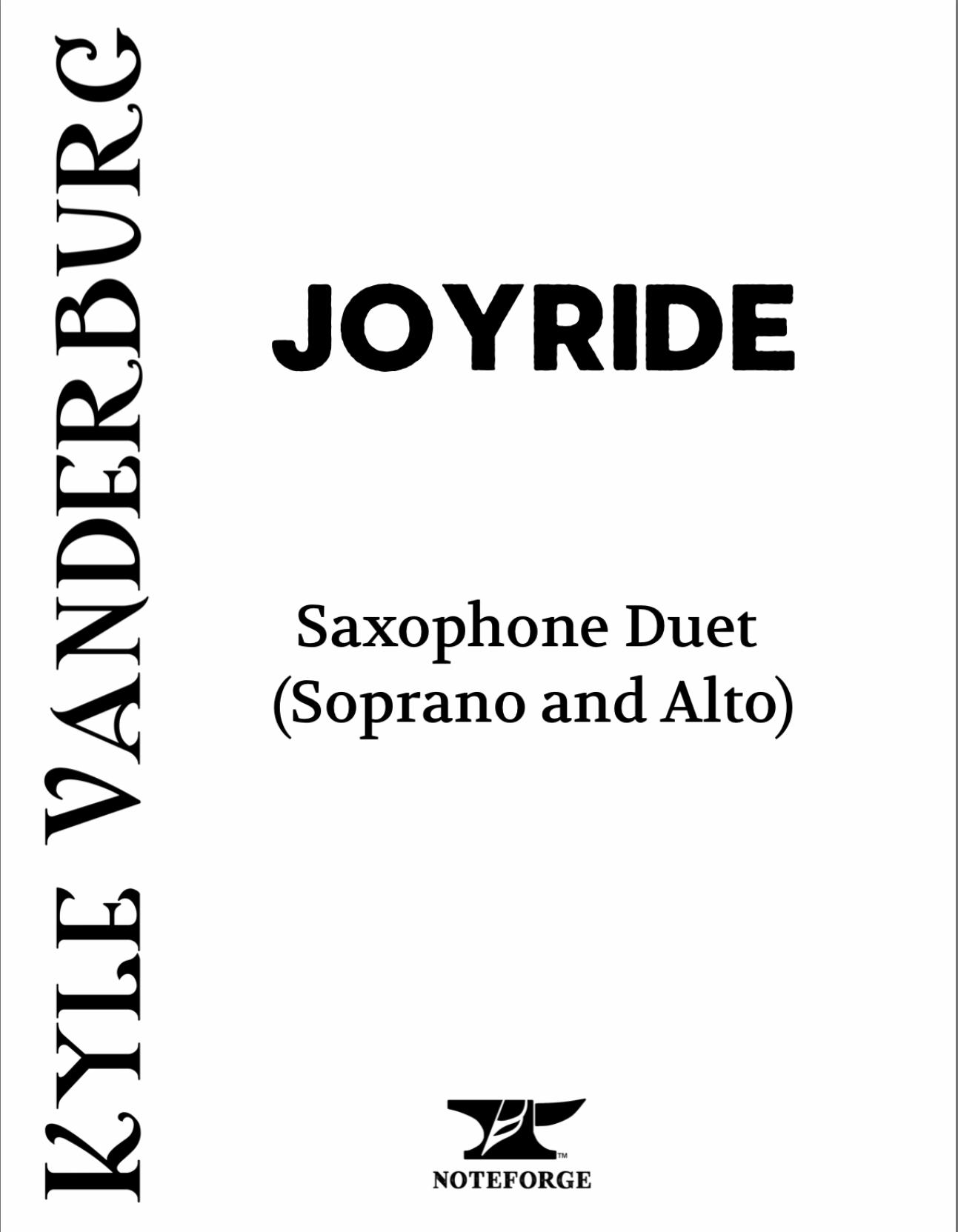 Joyride by Kyle Vanderburg