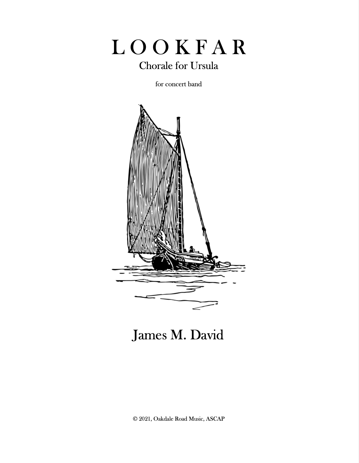 Lookfar (Version For Full Band) by James David