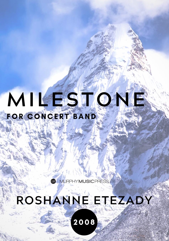 Milestone by Roshanne Etezady