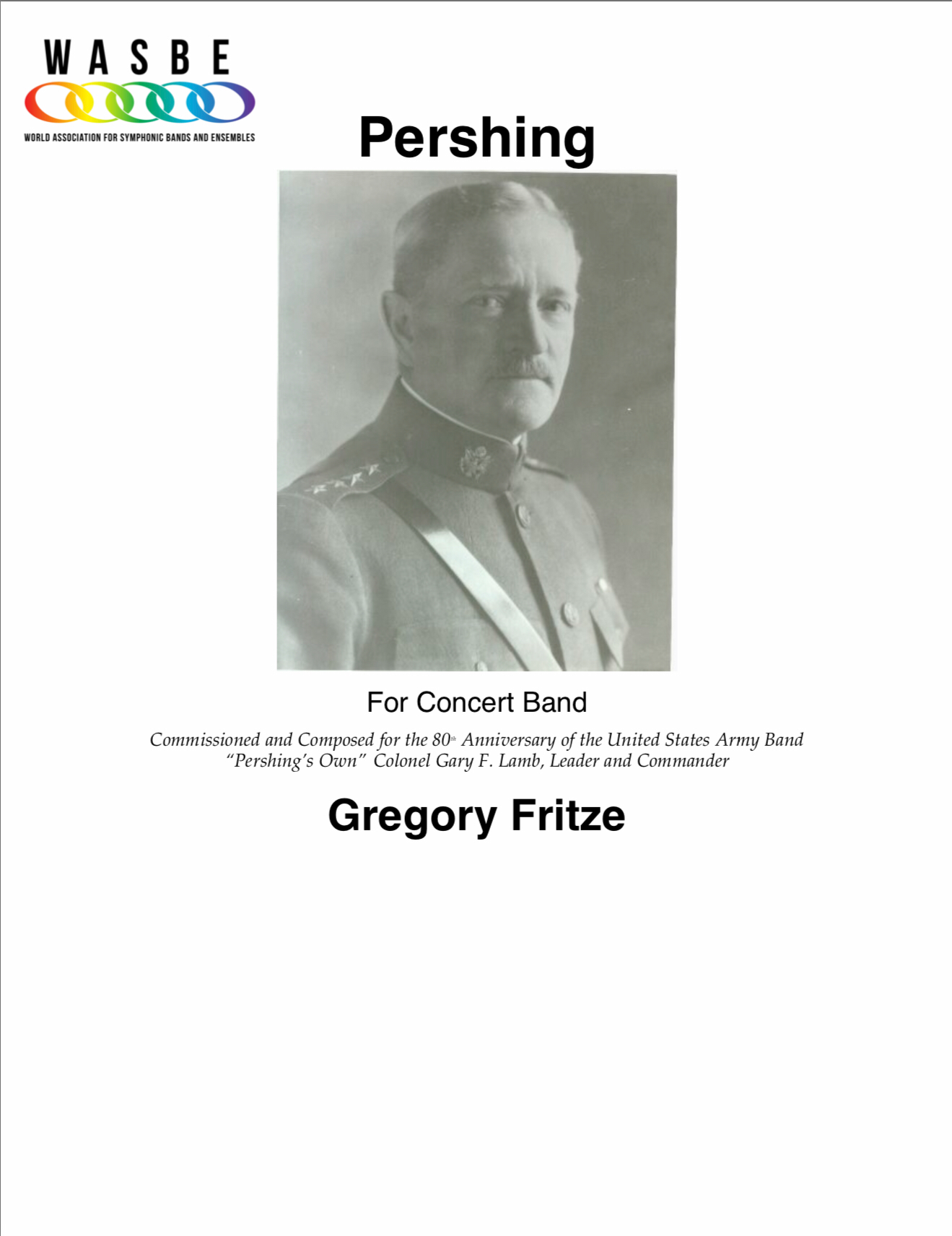 Pershing by Greg Fritze