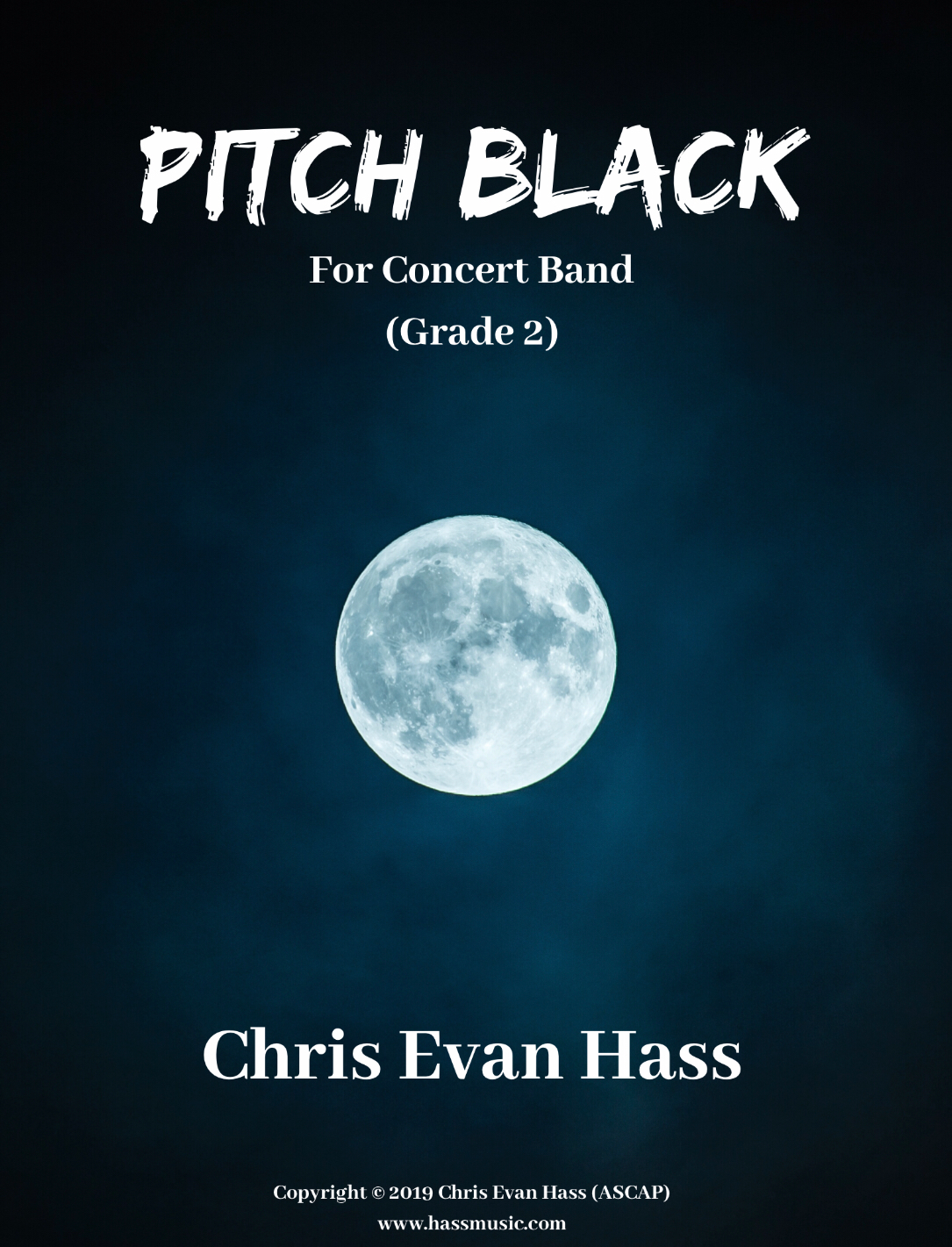 Pitch Black (Score Only) by Chris Evan Hass